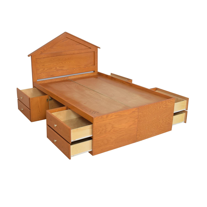 buy Gothic Cabinet Craft Gothic Cabinet Craft Oak Storage Bed online