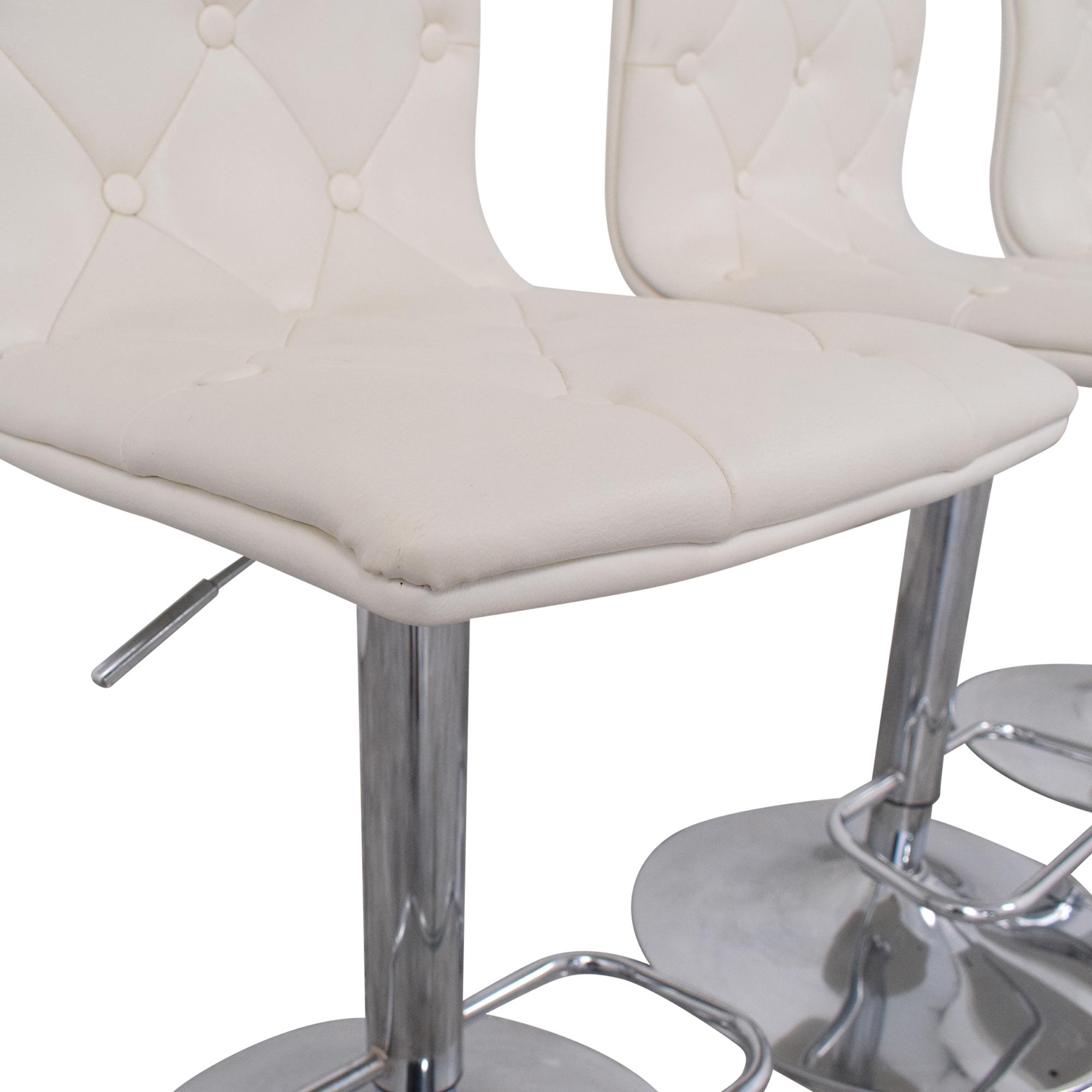 shop Belnick Tufted Adjustable Bar Stools Belnick Chairs