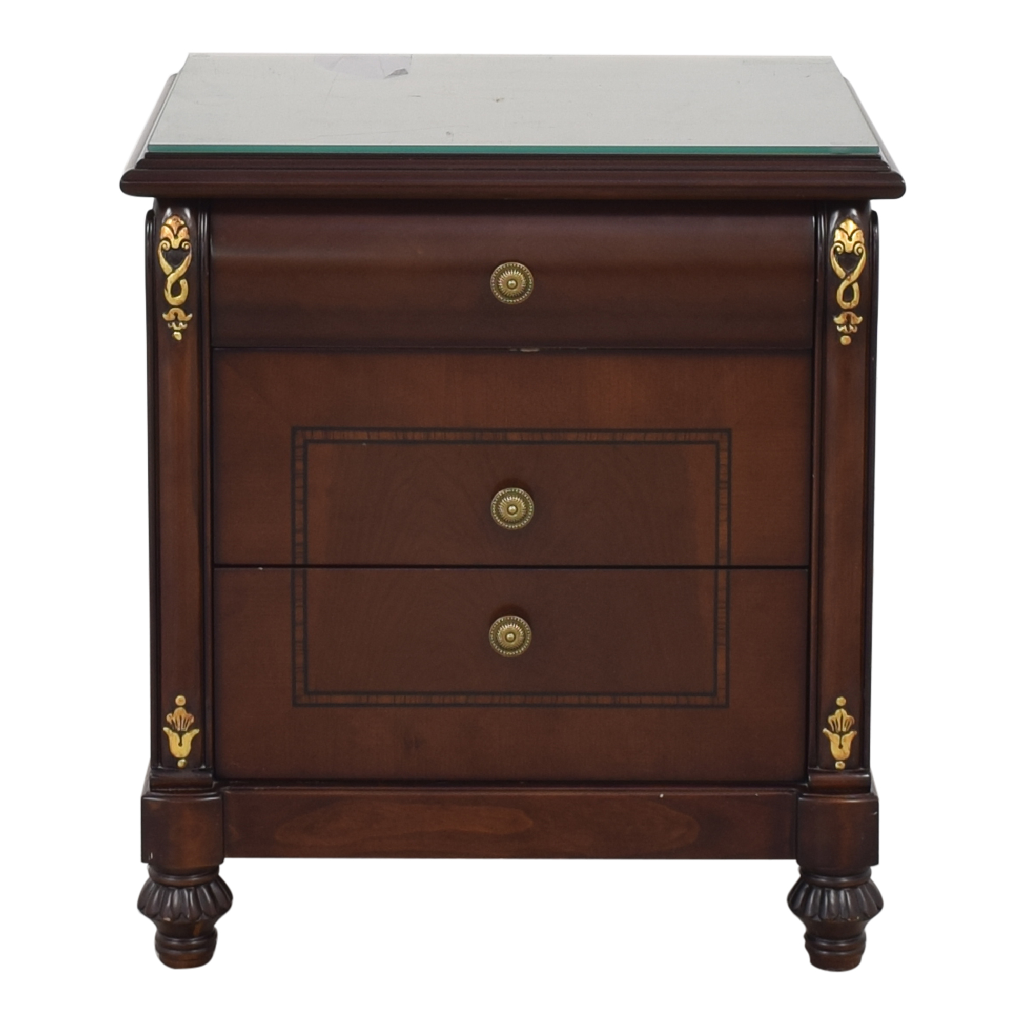 Three Drawer Nightstand ct