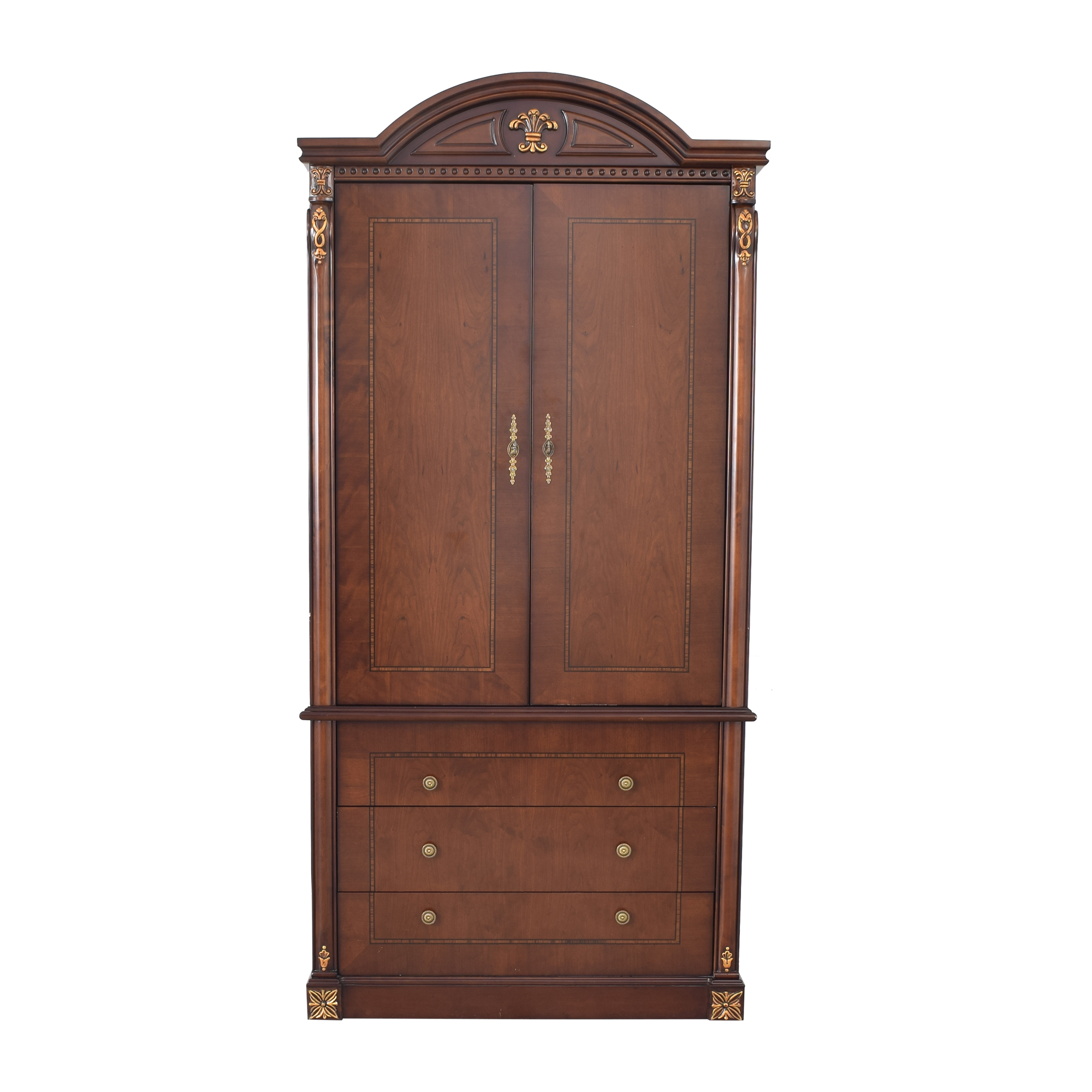 Chippendale Style Wardrobe used