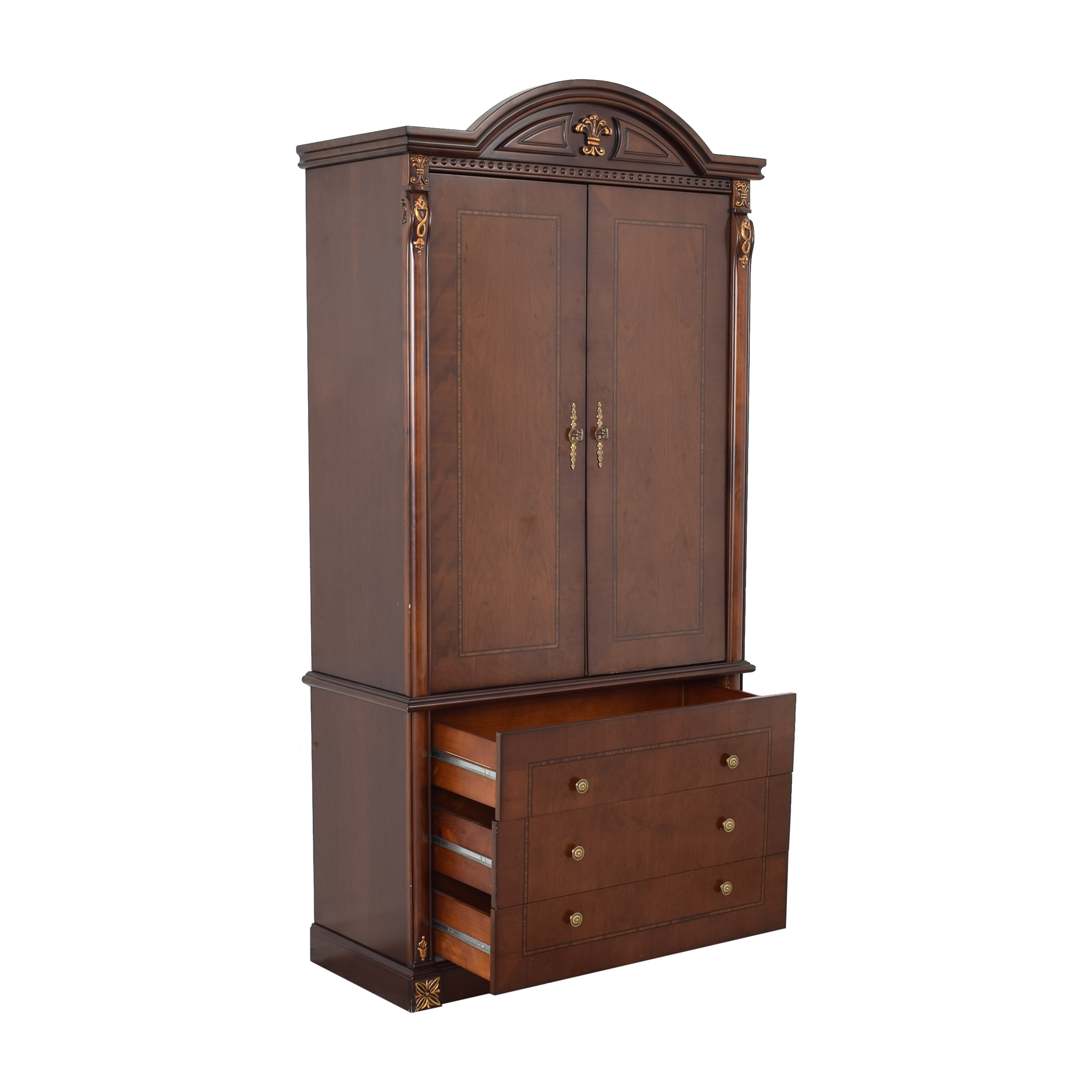 Chippendale Style Wardrobe Storage