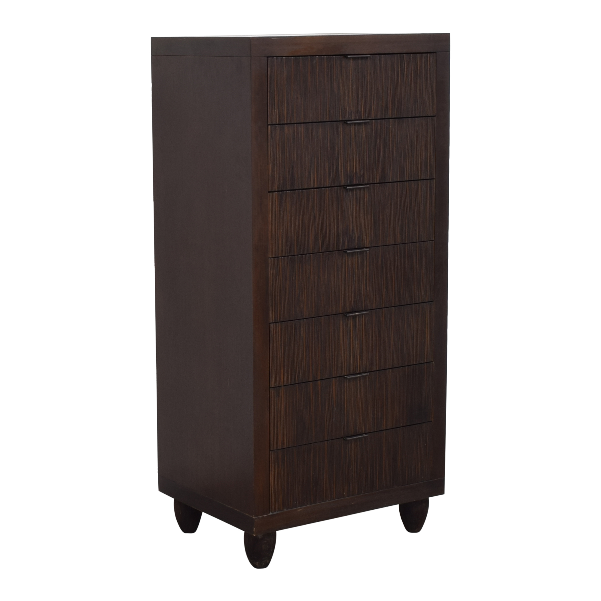 shop Crate & Barrel Tall Chest of Drawers Crate & Barrel Storage