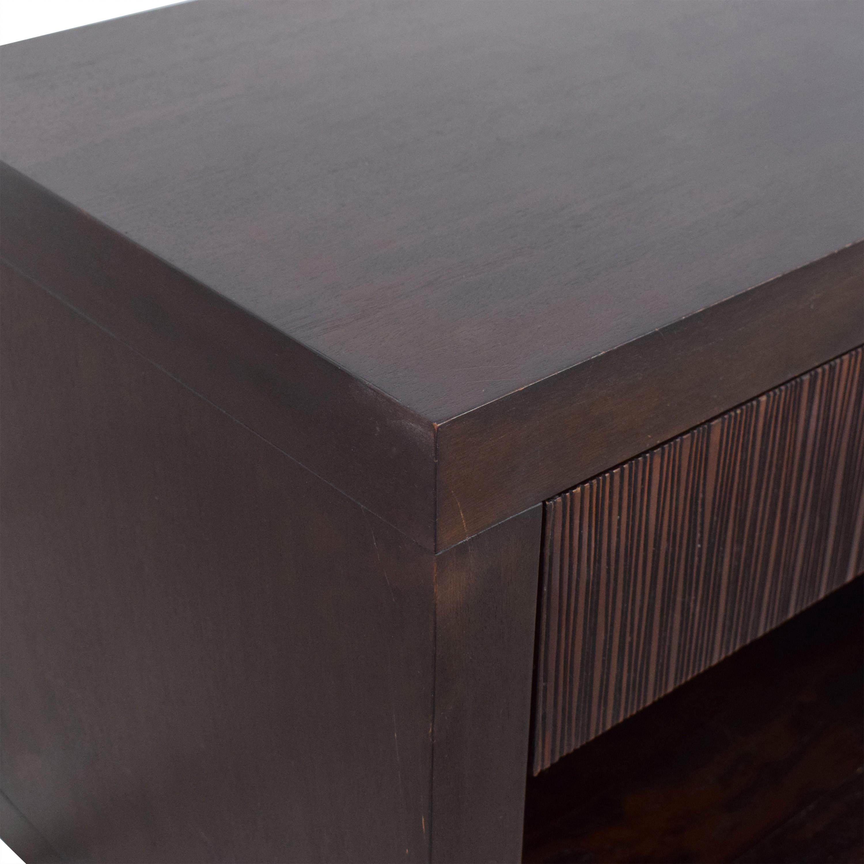 Crate & Barrel Crate & Barrel Single Drawer Nightstand ct