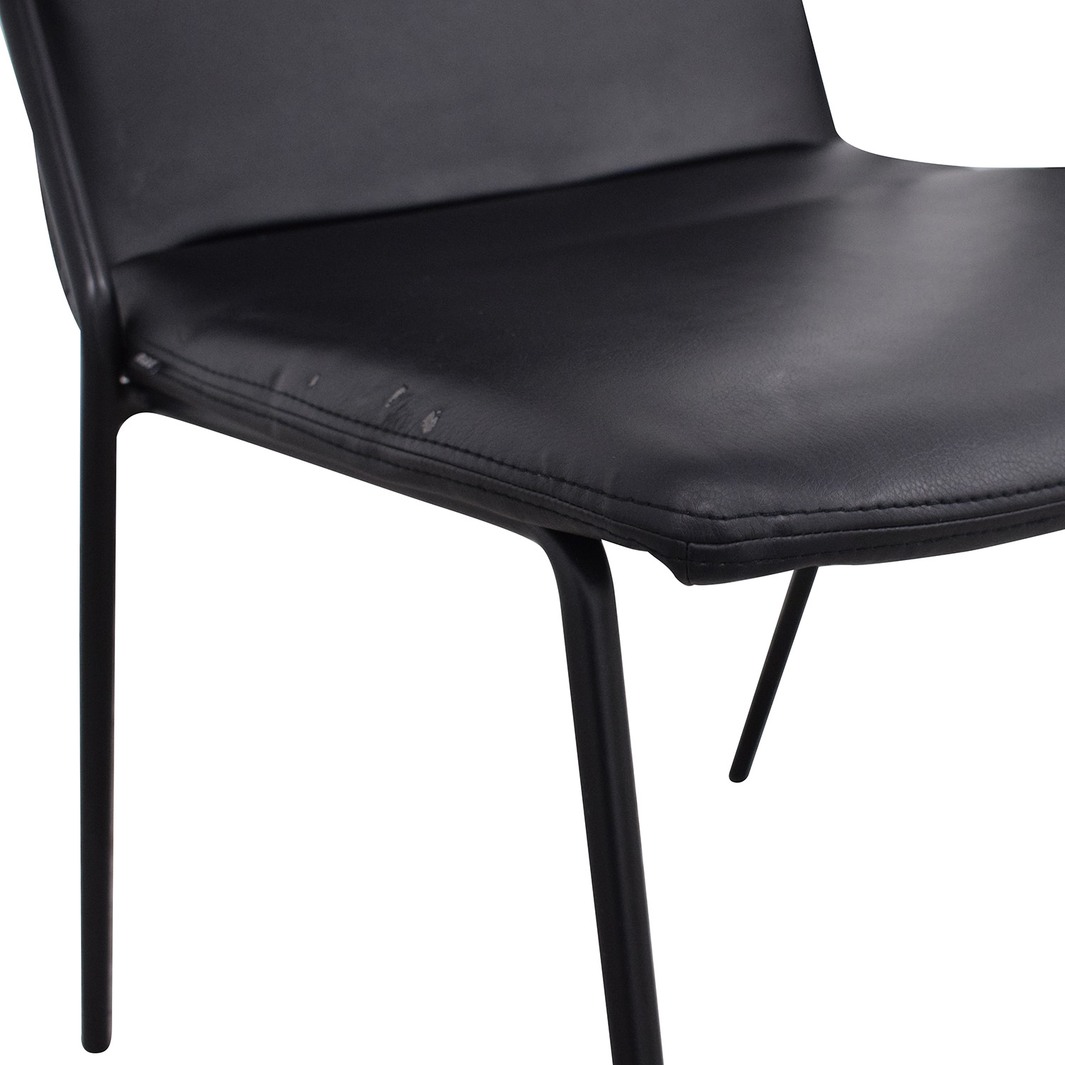 buy m.a.d. Black Sling Upholstered Chairs m.a.d. Dining Chairs