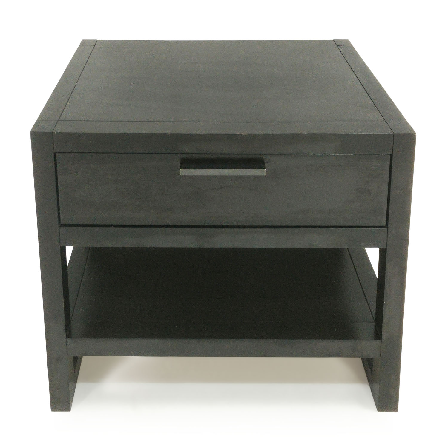Macys Dark Wood Side Table sale