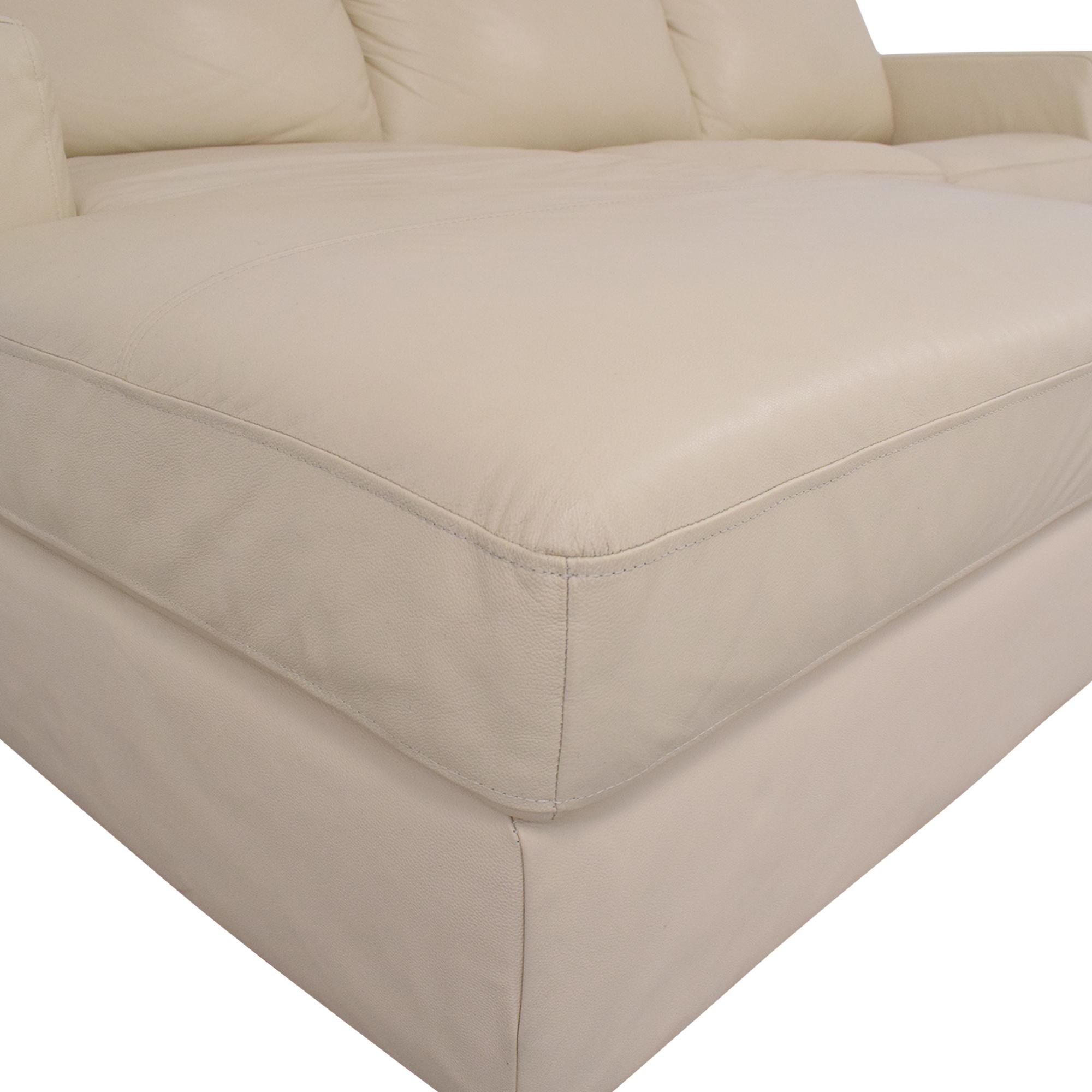 J&M Furniture J&M Furniture Jenny Sectional Sleeper Sofa pa
