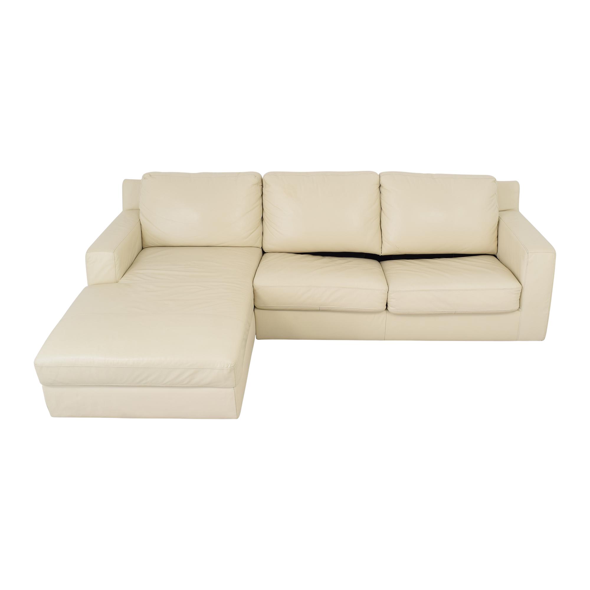 J&M Furniture J&M Furniture Jenny Sectional Sleeper Sofa used