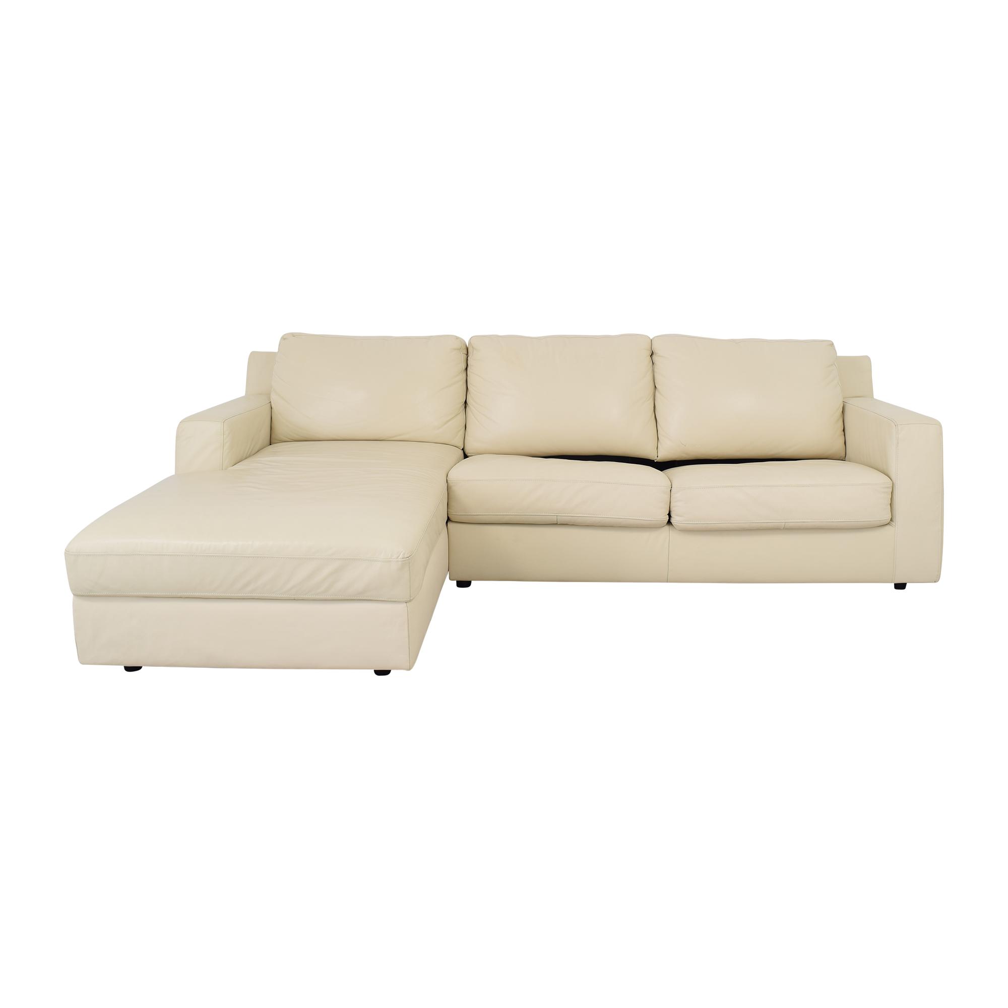 J&M Furniture Jenny Sectional Sleeper Sofa J&M Furniture