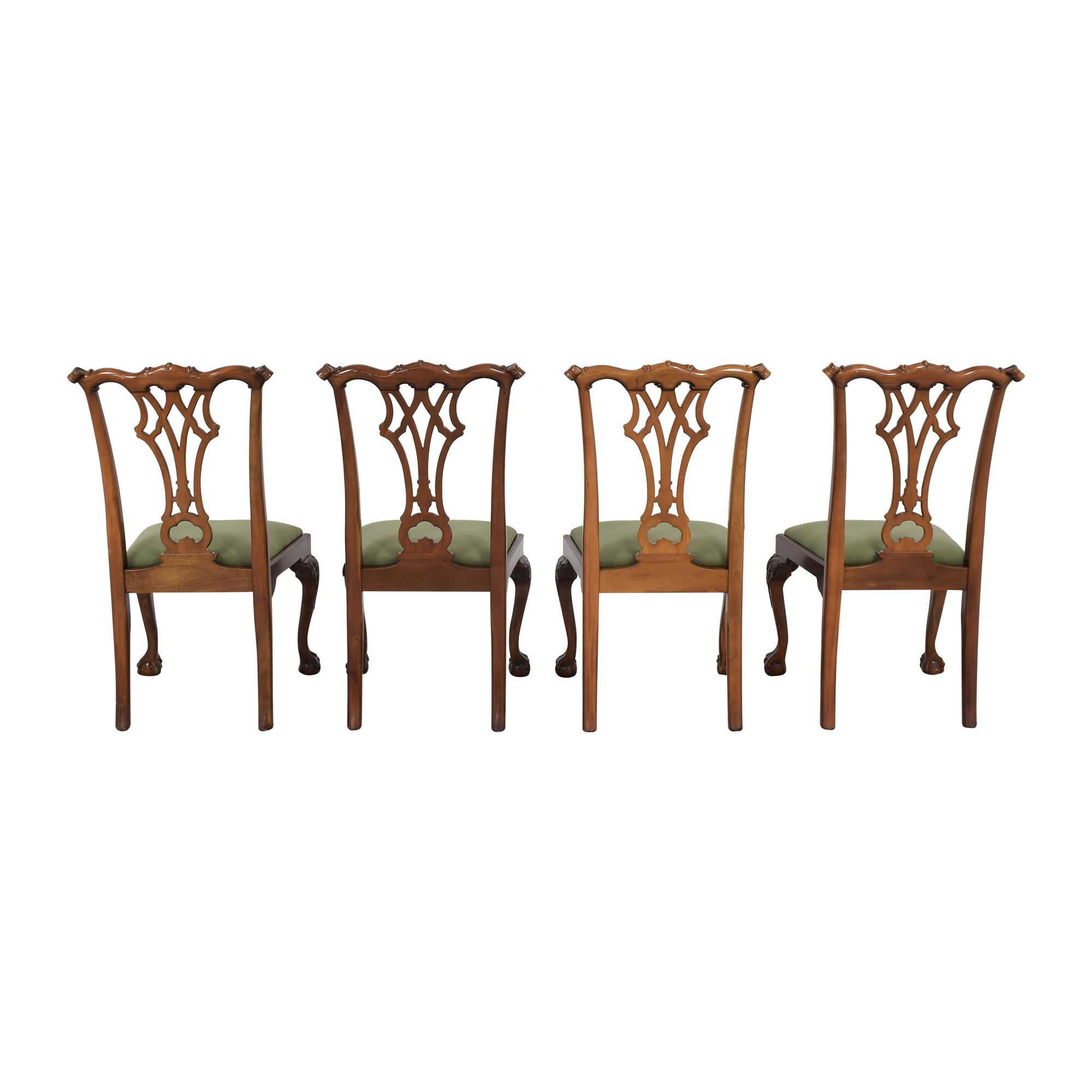 shop Greenbaum Interiors Vintage Upholstered Dining Chairs Greenbaum Interiors Dining Chairs
