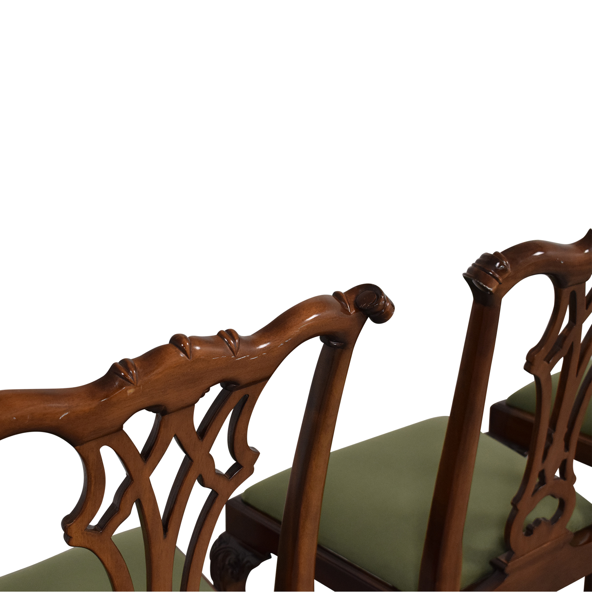 Greenbaum Interiors Greenbaum Interiors Vintage Upholstered Dining Chairs
