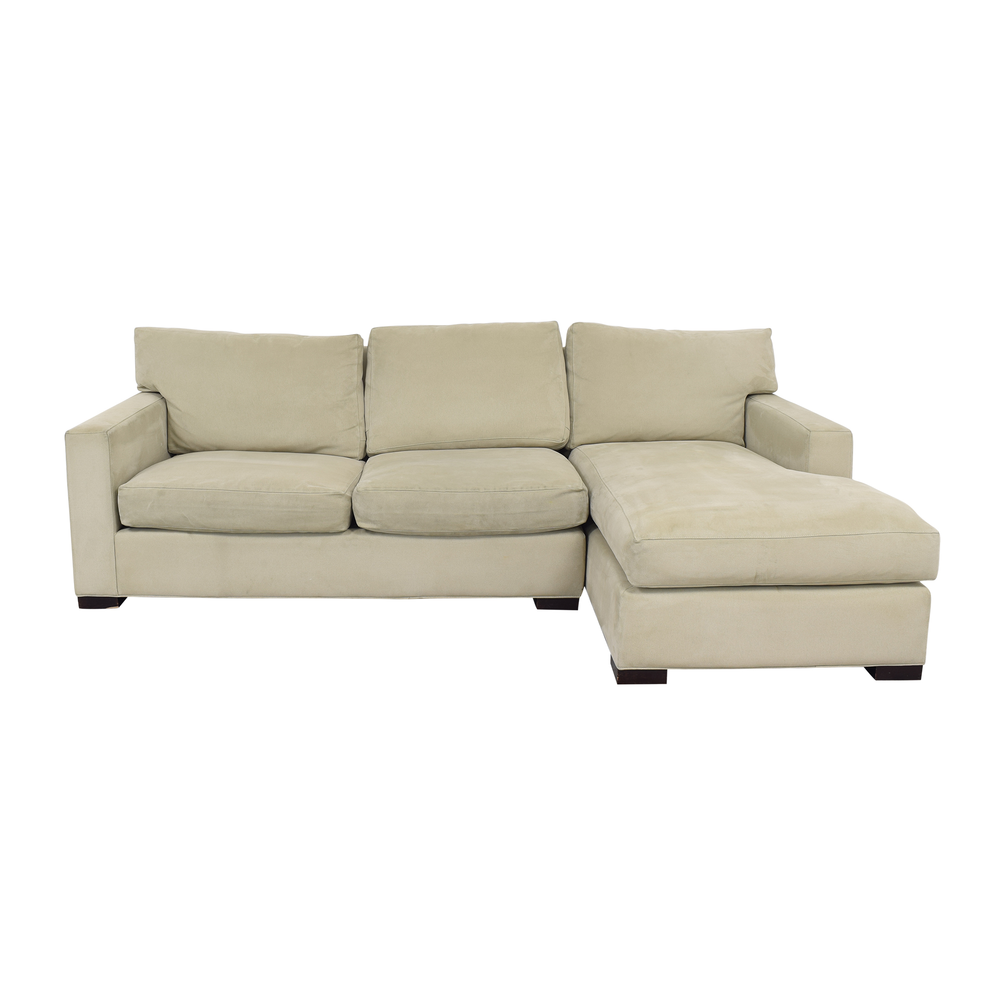 buy Crate & Barrel Axis II Sectional Sofa Crate & Barrel Sofas