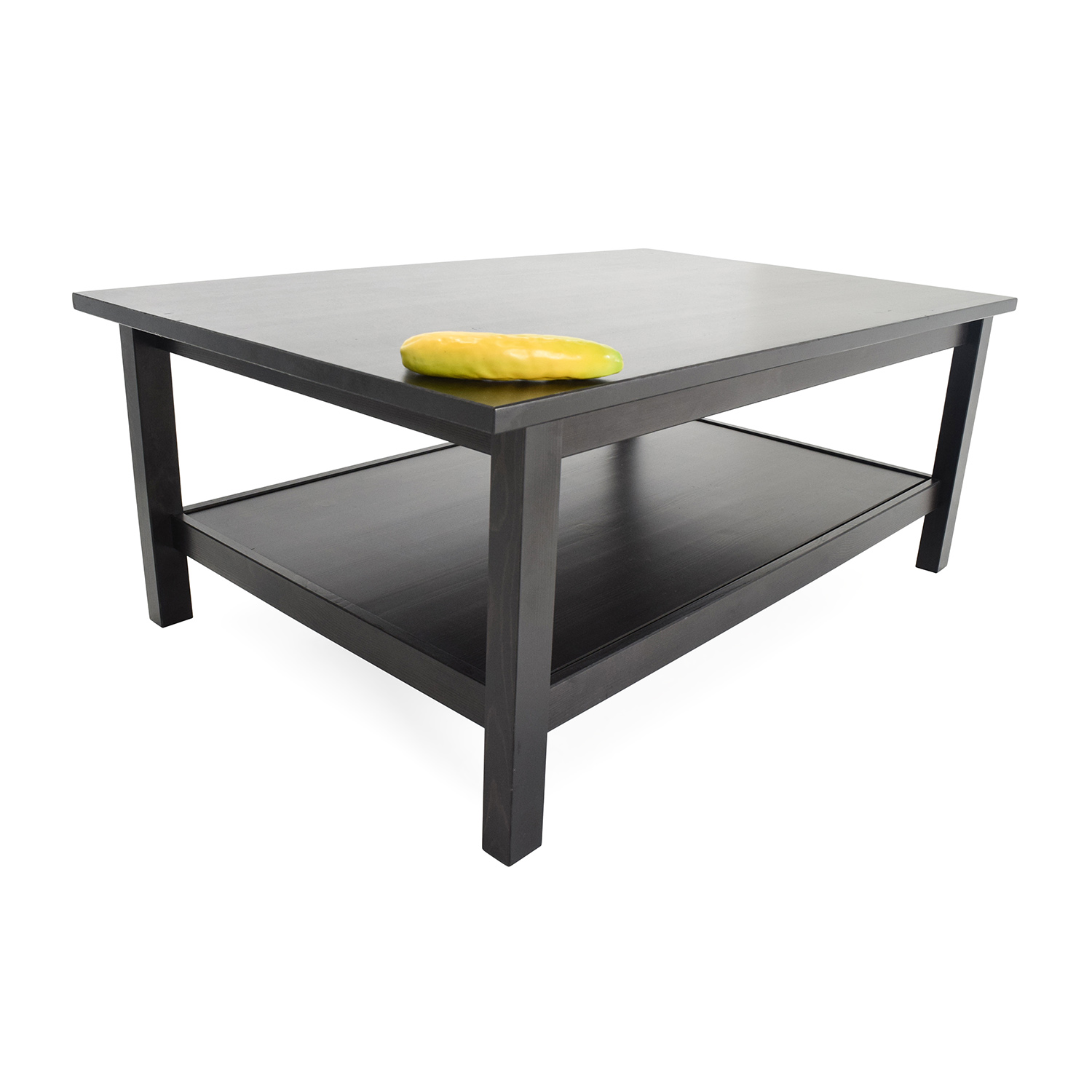 50 Off Ikea Dark Chocolate Coffee Table Tables