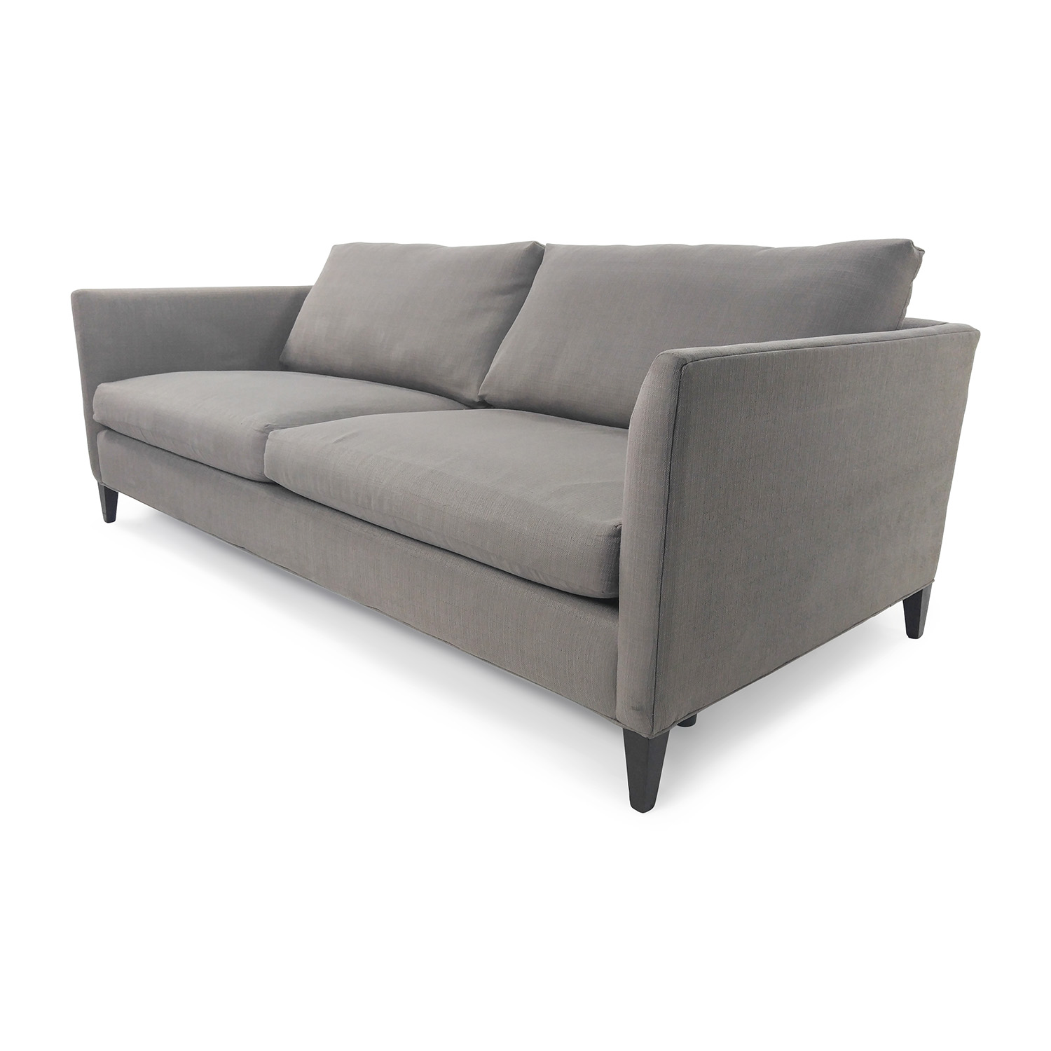 50% off - crate and barrel crate & barrel 3 seater sofa / sofas