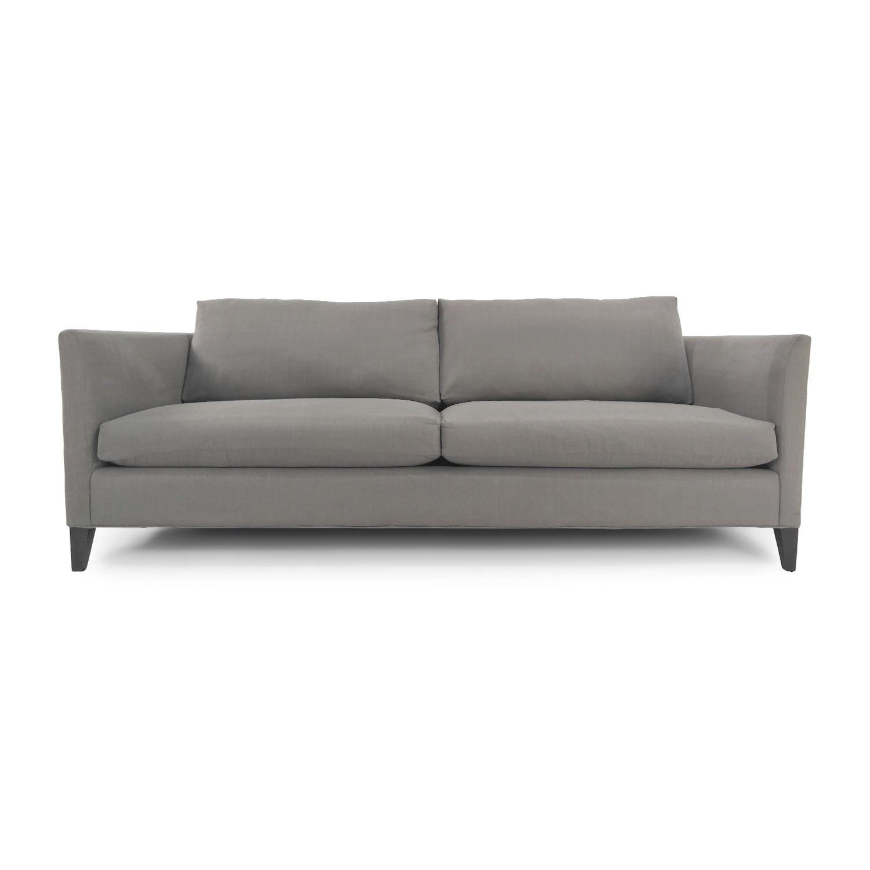 57% OFF - Crate & Barrel Crate & Barrel 3 Seater Sofa / Sofas