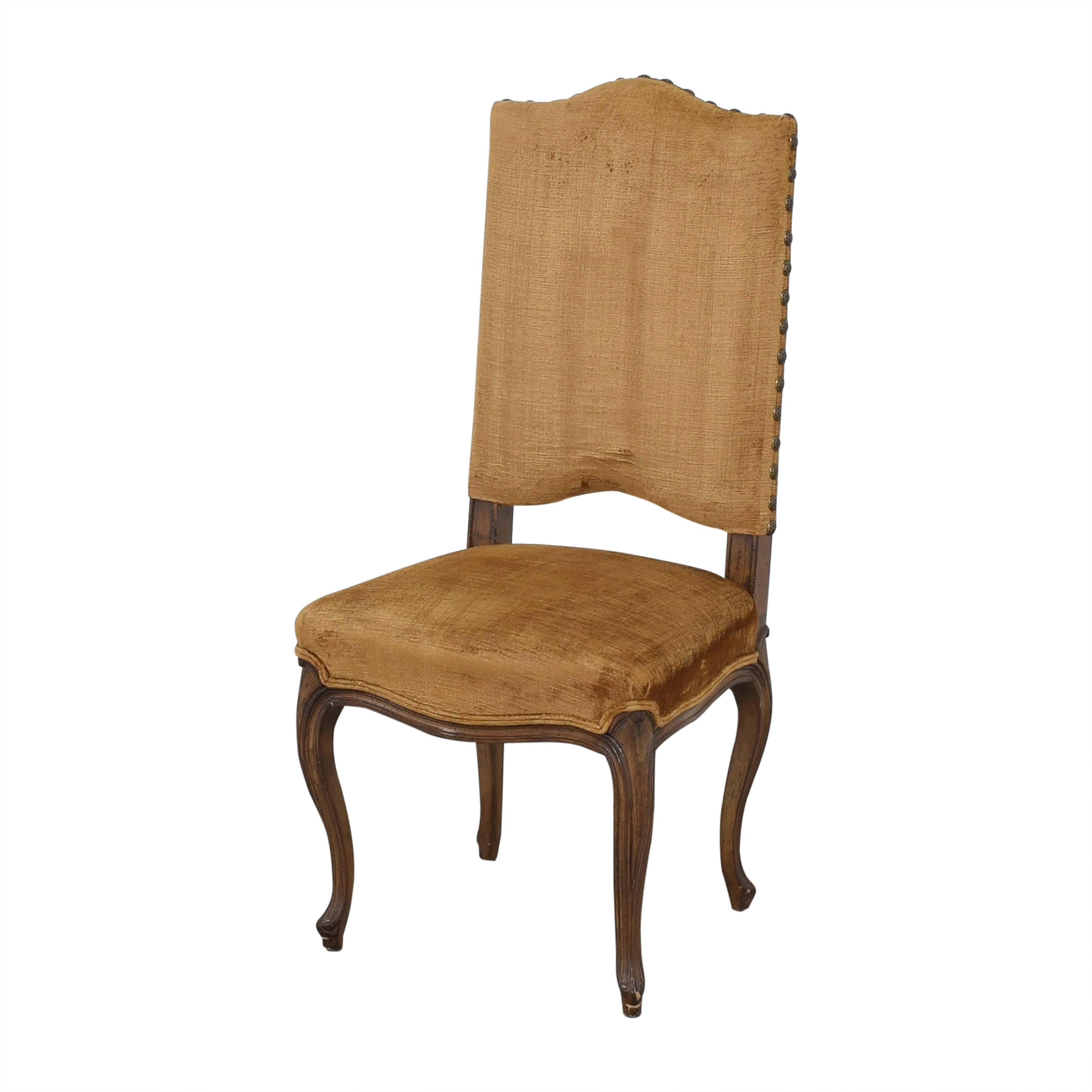 shop Upholstered Nail Head Dining Chairs  Dining Chairs