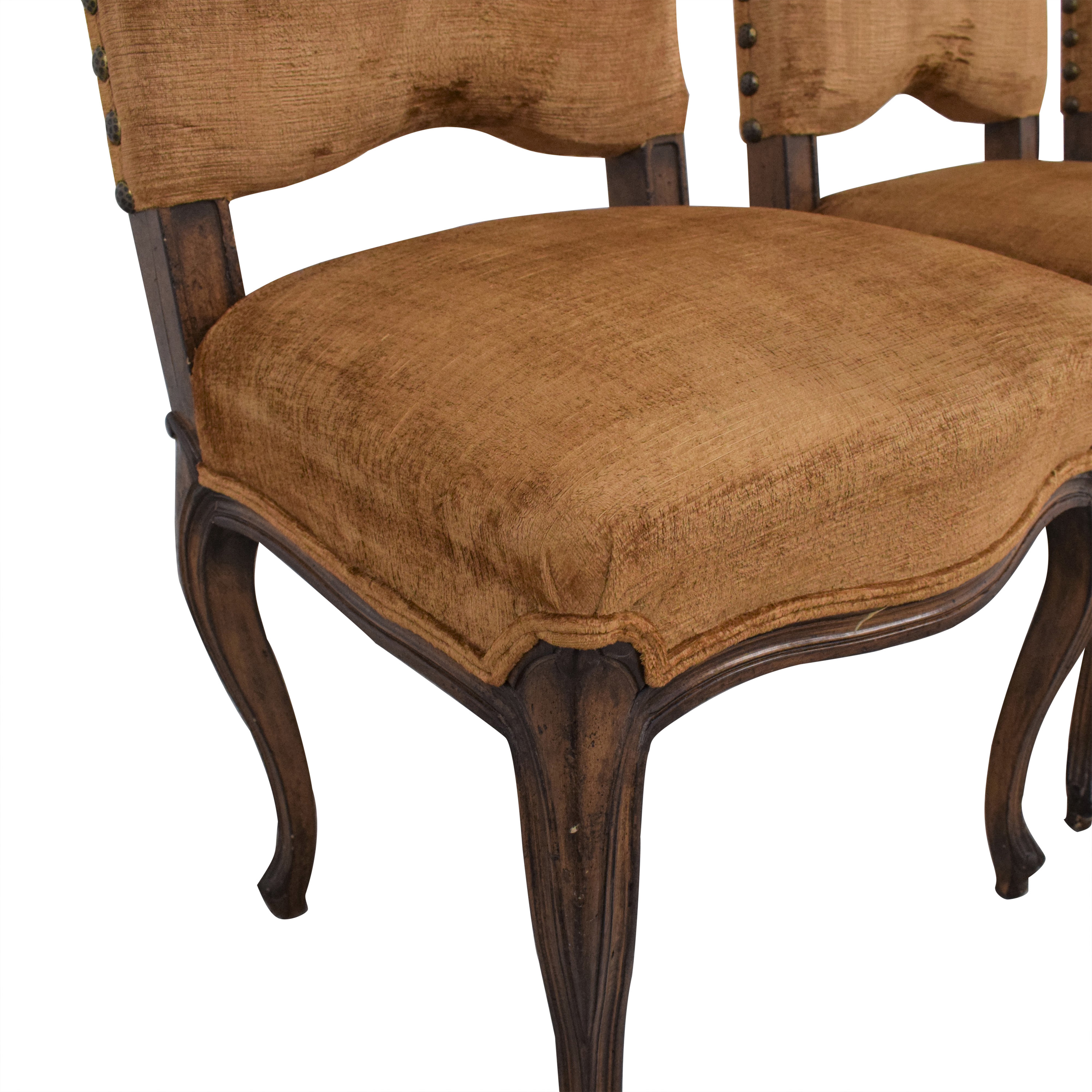 buy Upholstered Nail Head Dining Chairs  Dining Chairs
