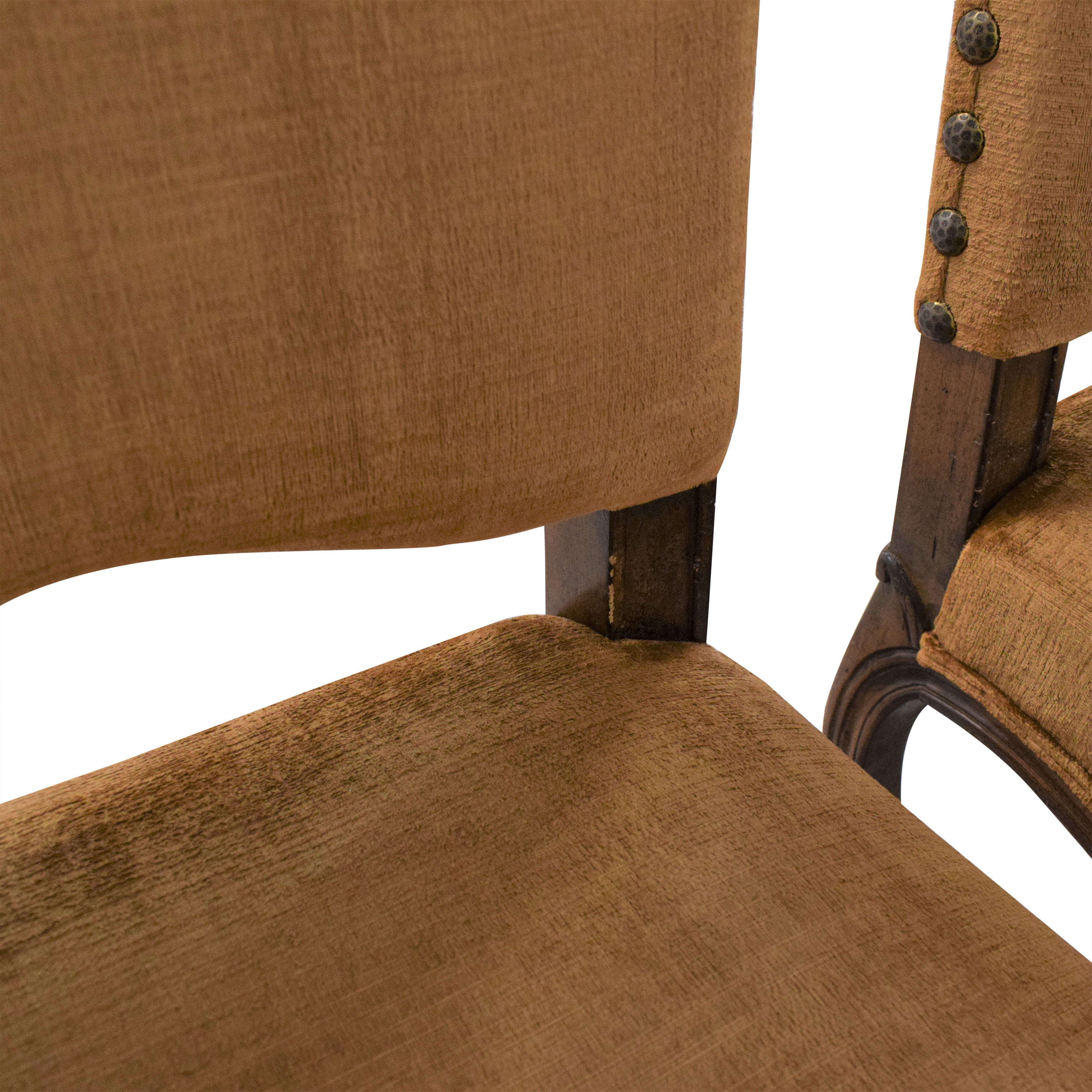 Upholstered Nail Head Dining Chairs ct