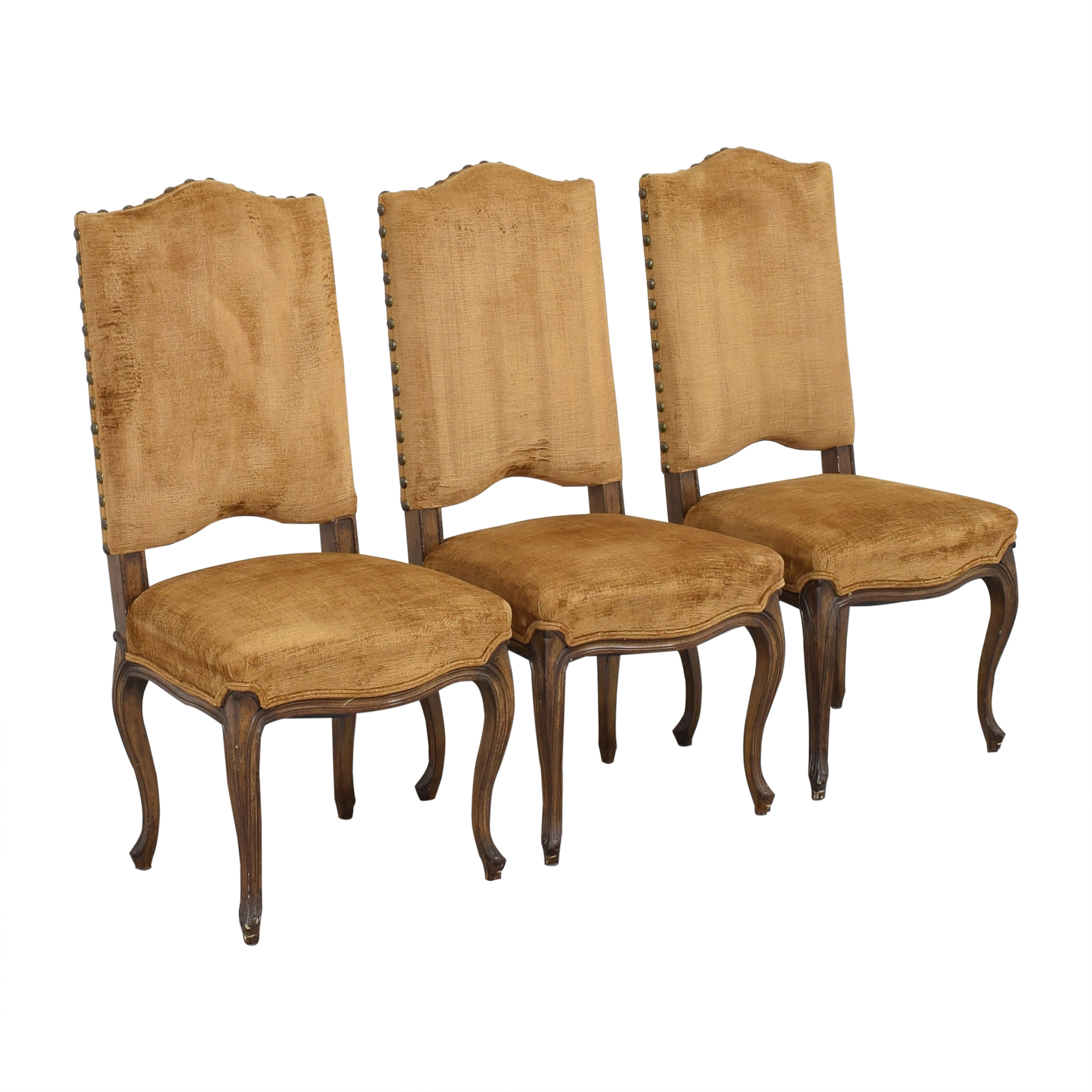 Upholstered Nail Head Dining Chairs / Dining Chairs