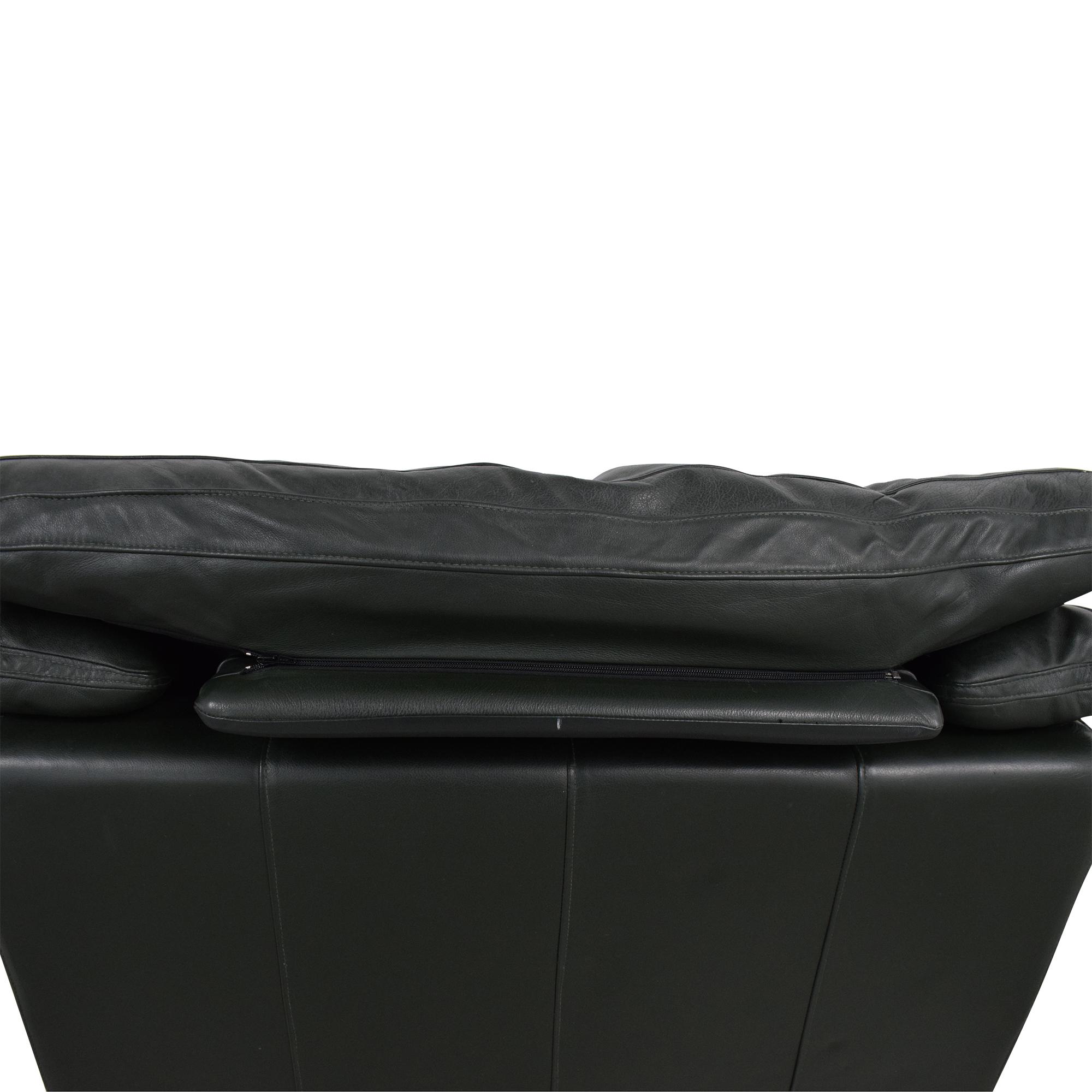 Natuzzi Padded Arm Lounge Chair sale