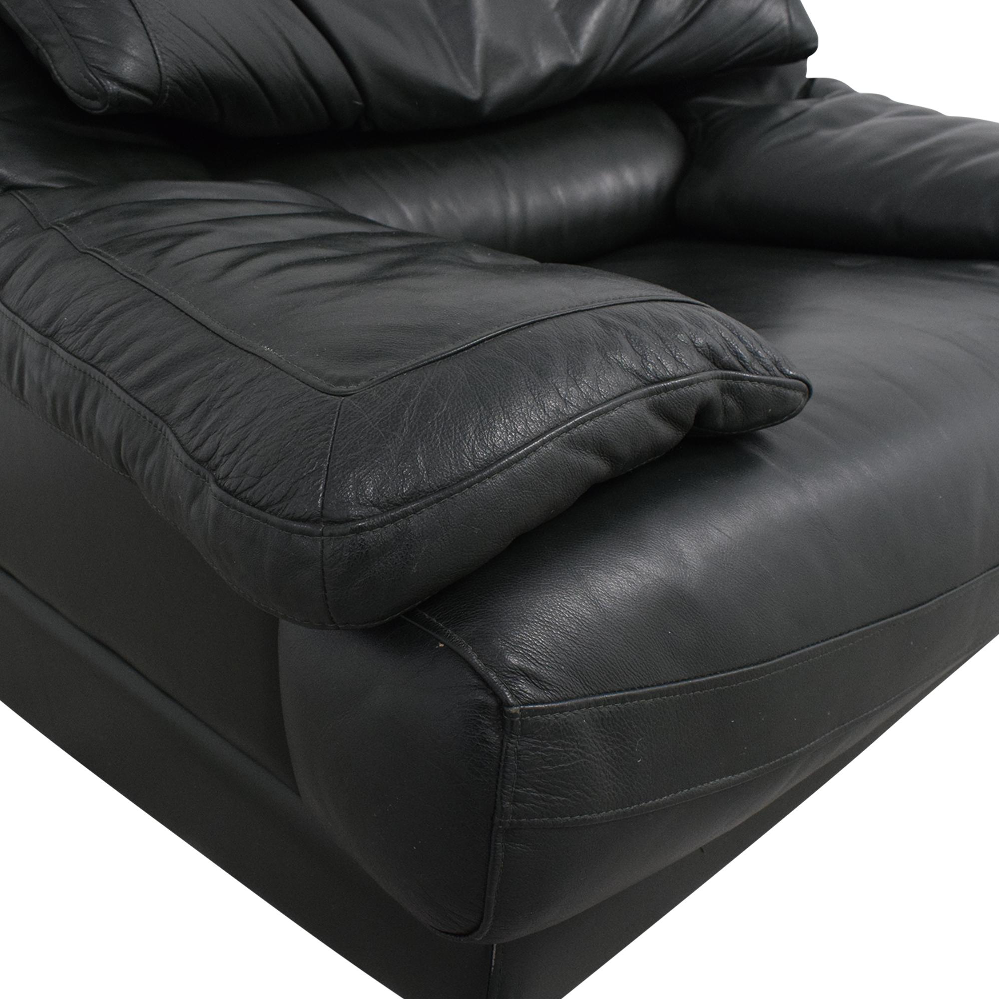 Natuzzi Natuzzi Padded Arm Lounge Chair nyc