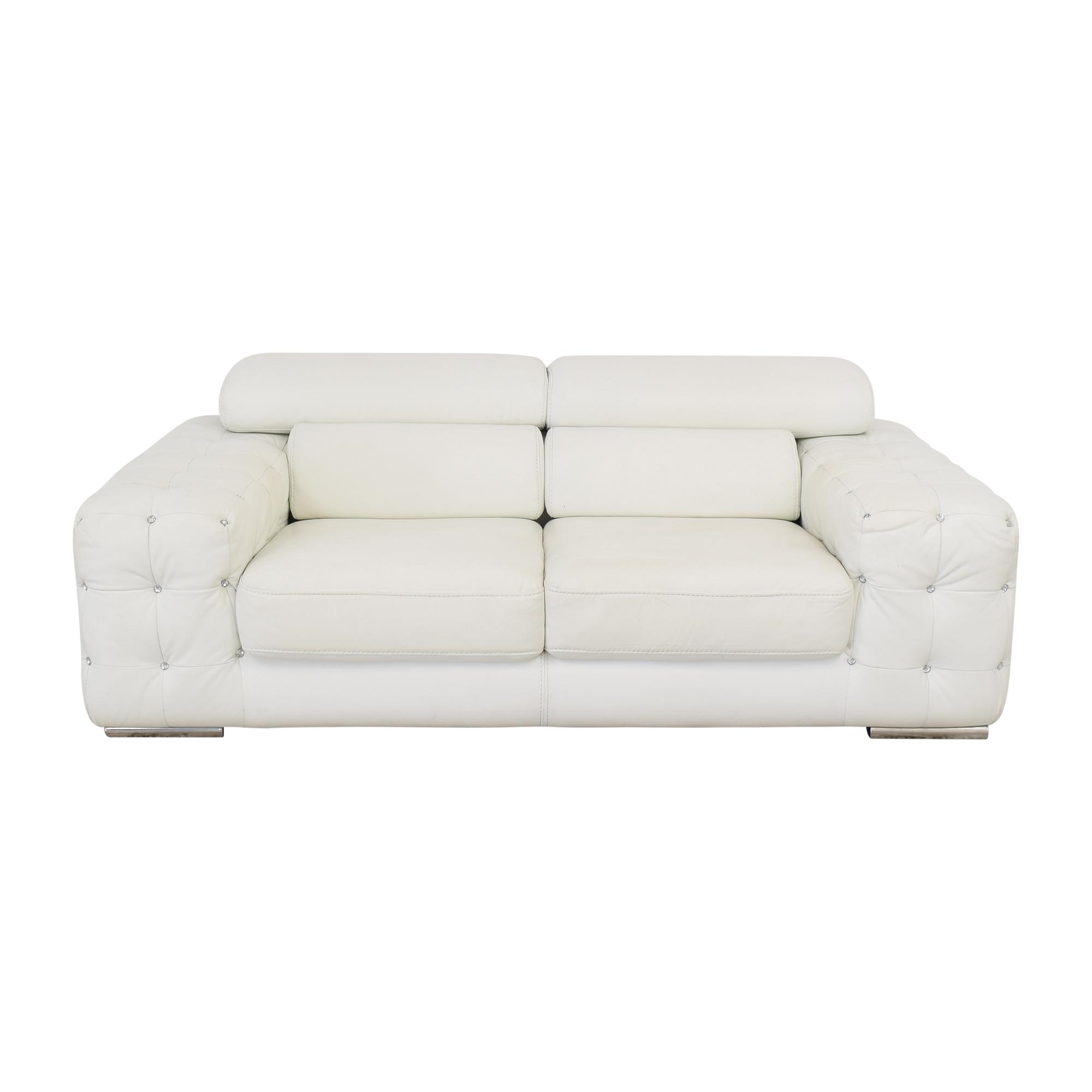 buy Divani Casa Corinne Modern Sofa Vieri Divani Classic Sofas