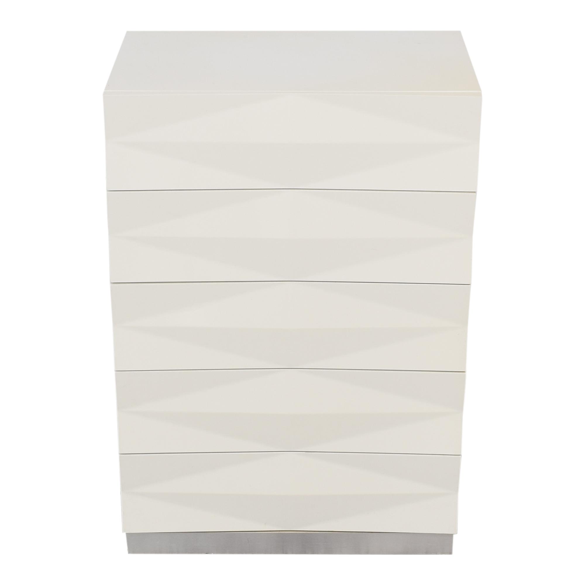 Modern Style Textured Vertical Dresser sale