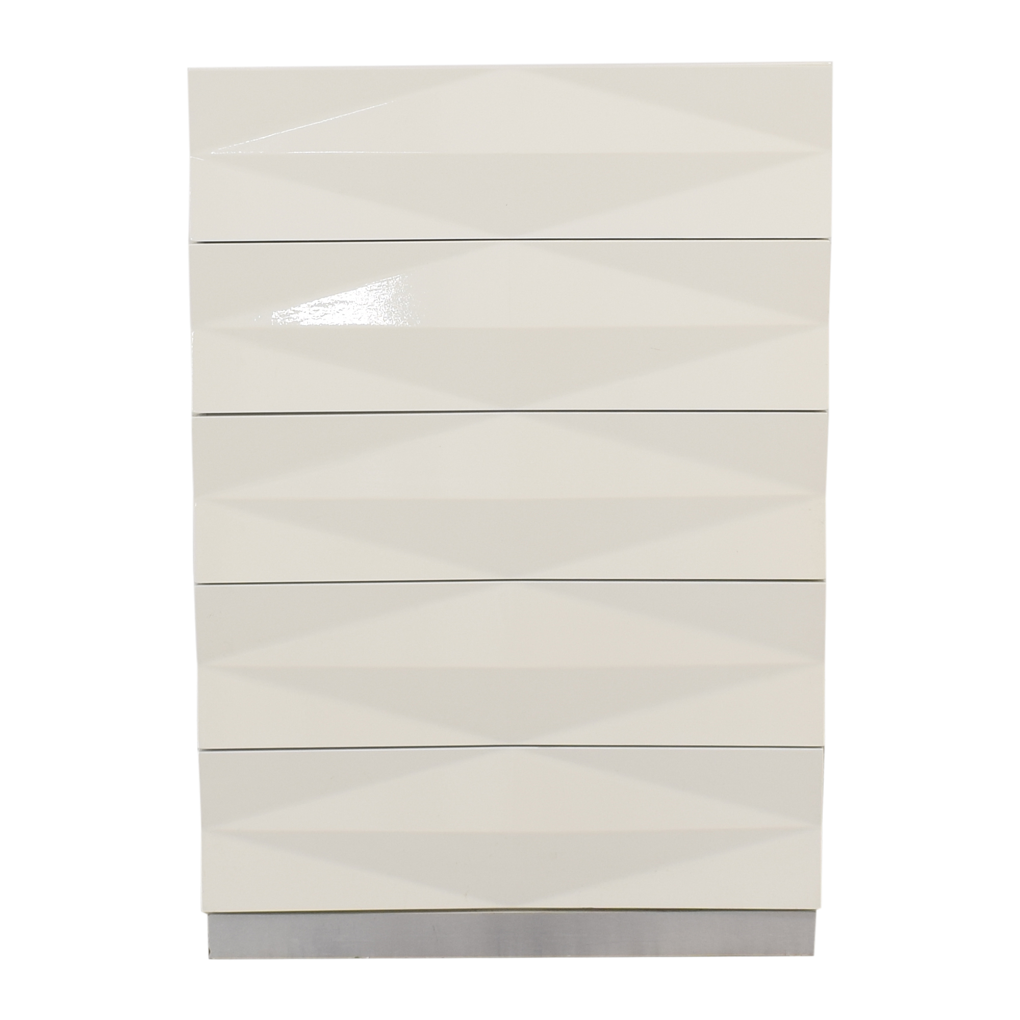 Modern Style Textured Vertical Dresser