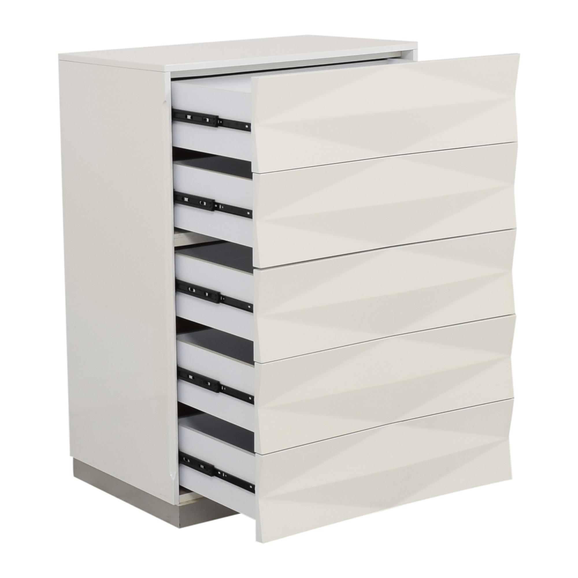 Modern Style Textured Vertical Dresser price