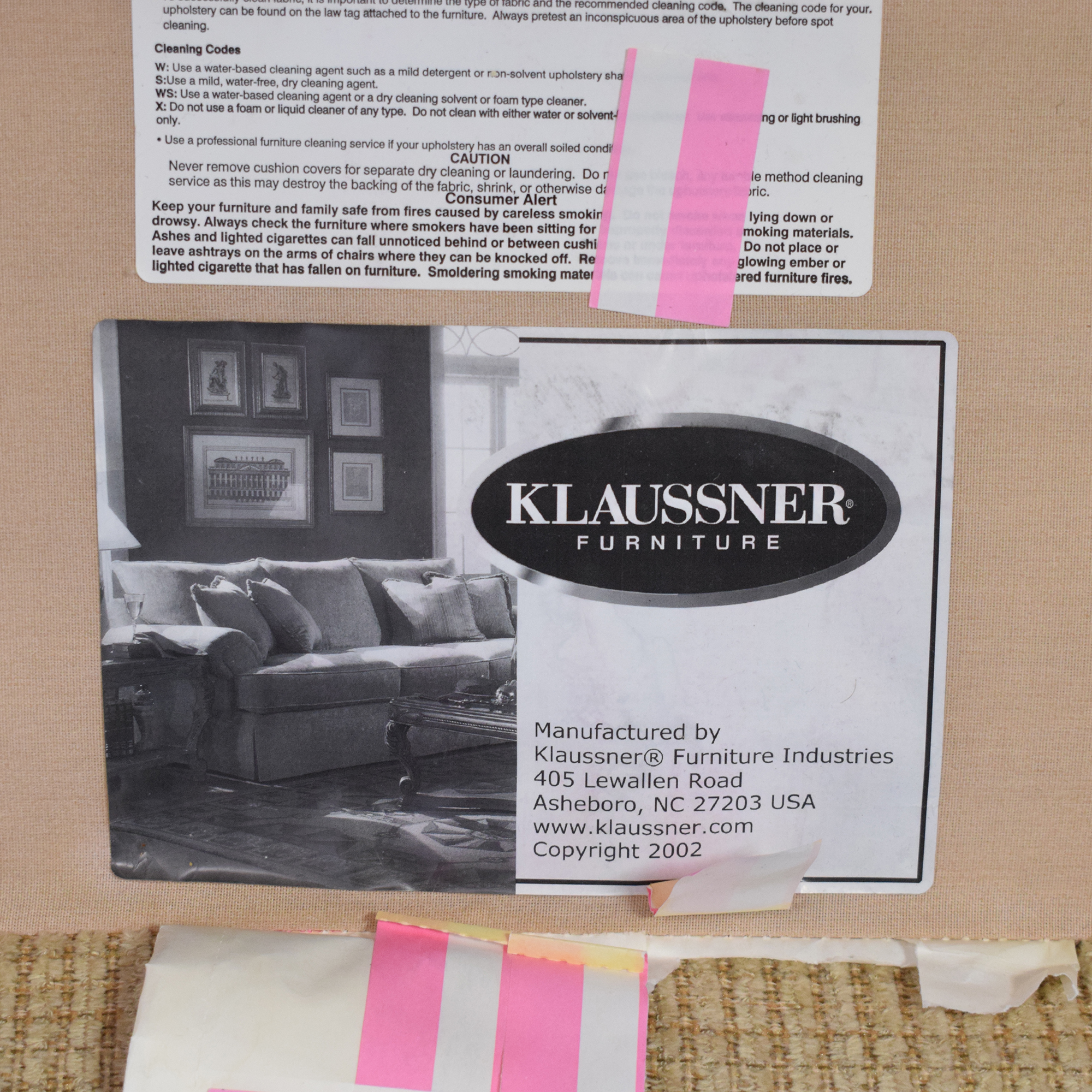 Klaussner Club Chair / Chairs