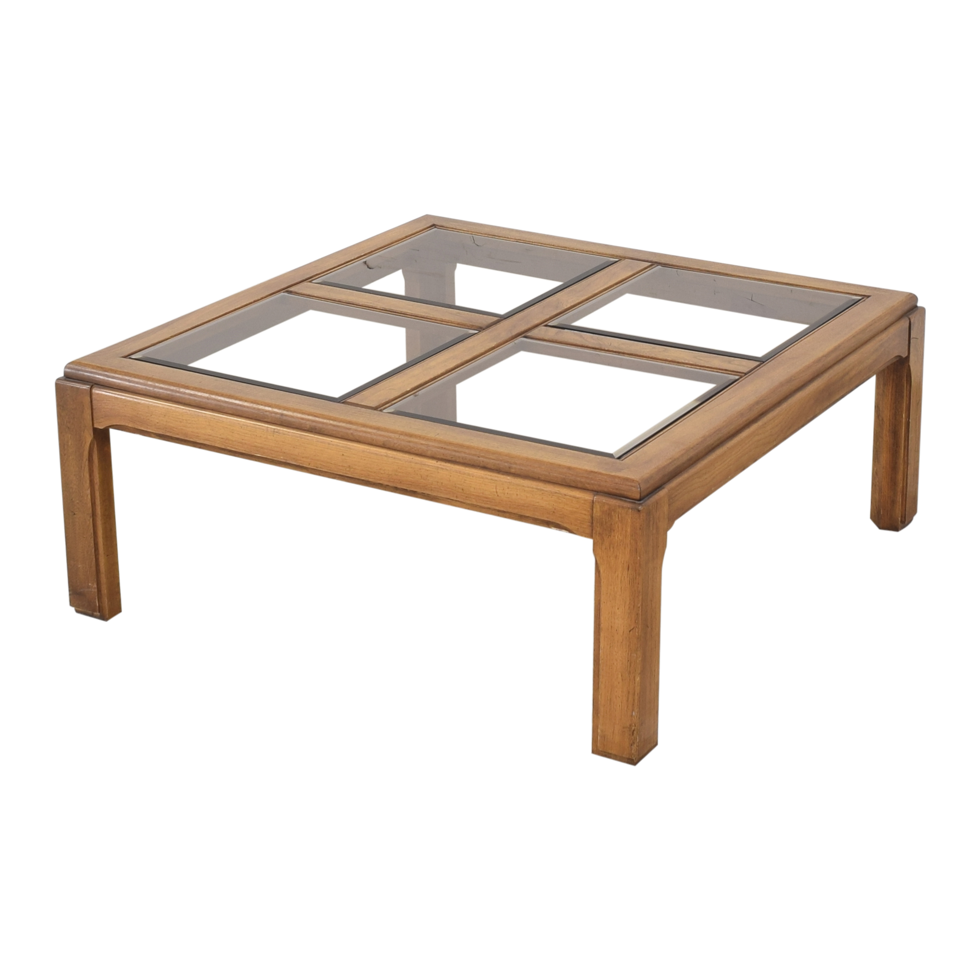 Lane Furniture Lane Furniture Glass Grid Coffee Table Tables