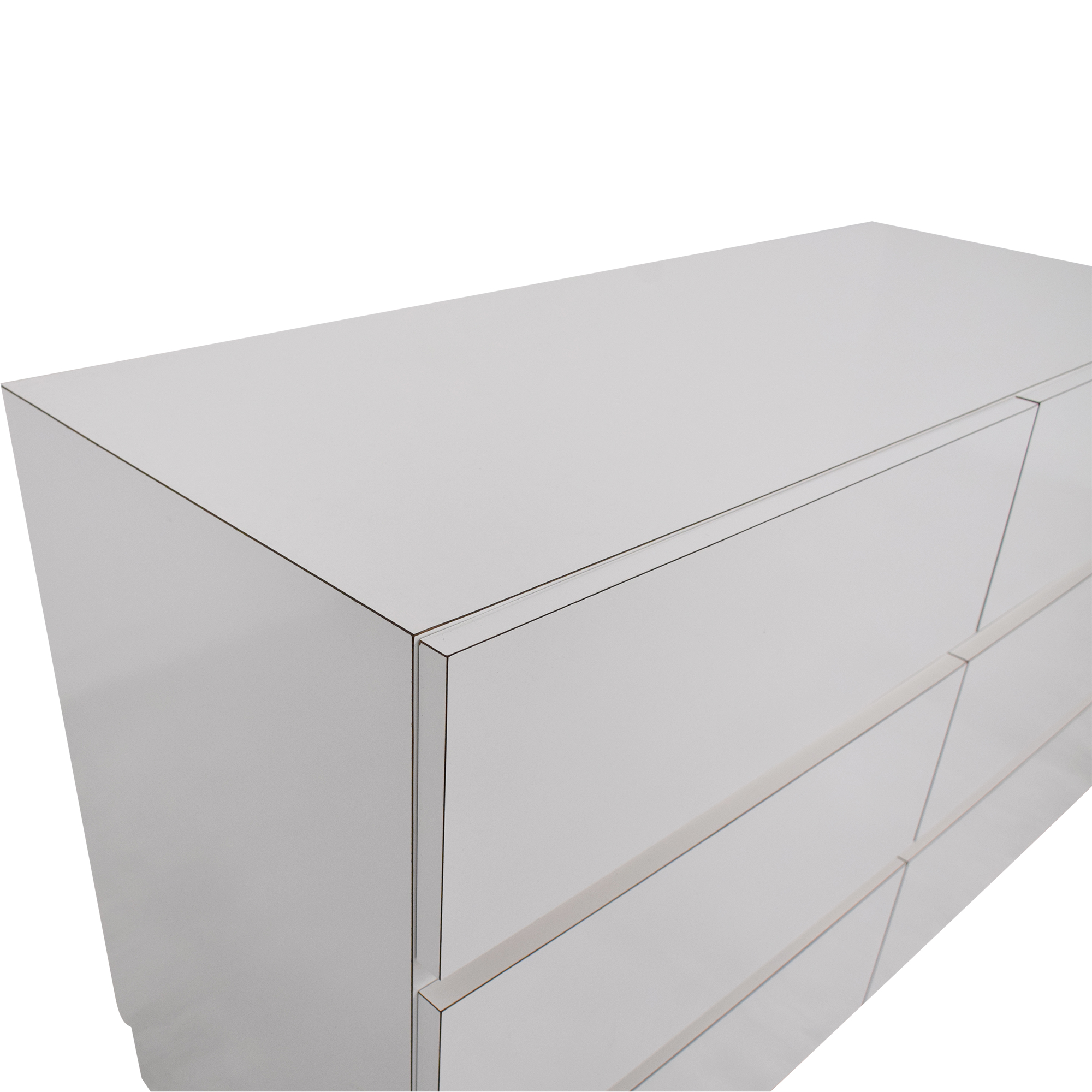 buy Modern Six Drawer Dresser  Storage