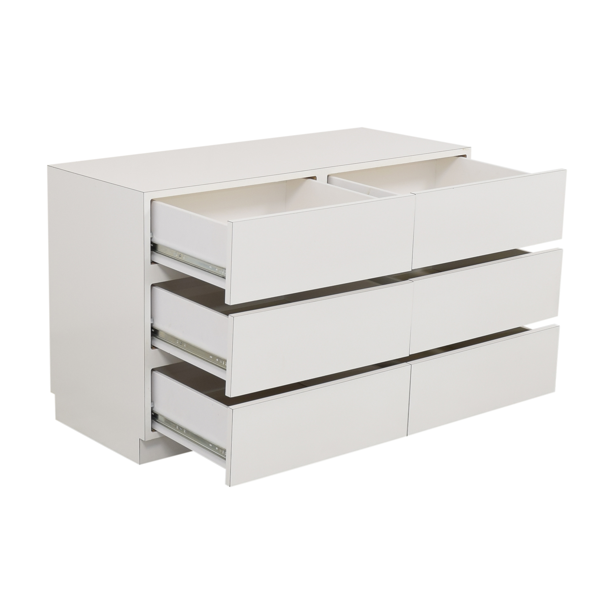 Modern Six Drawer Dresser nyc