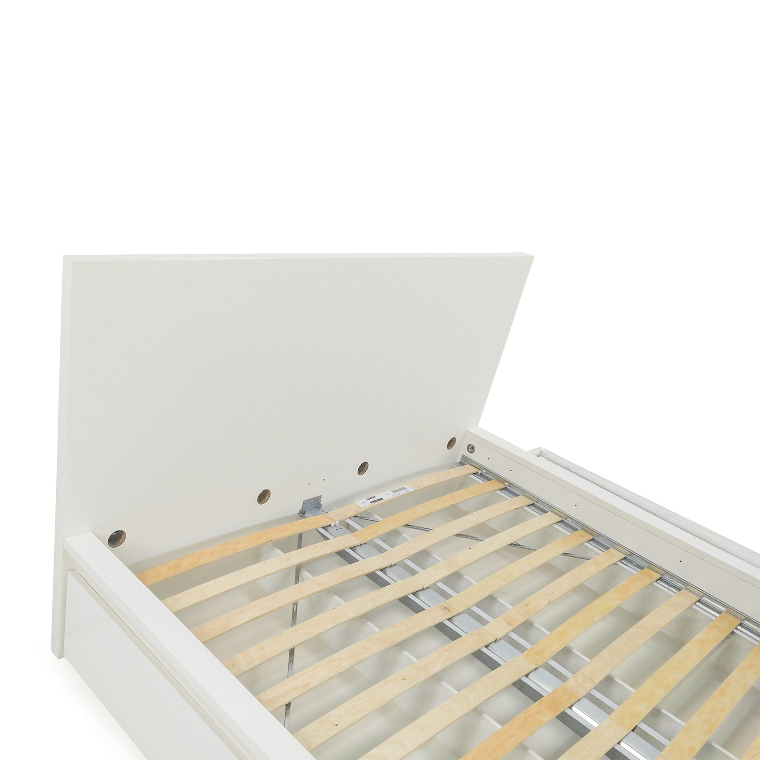 49 Off Ikea Queen Bed Frame With Storage Beds
