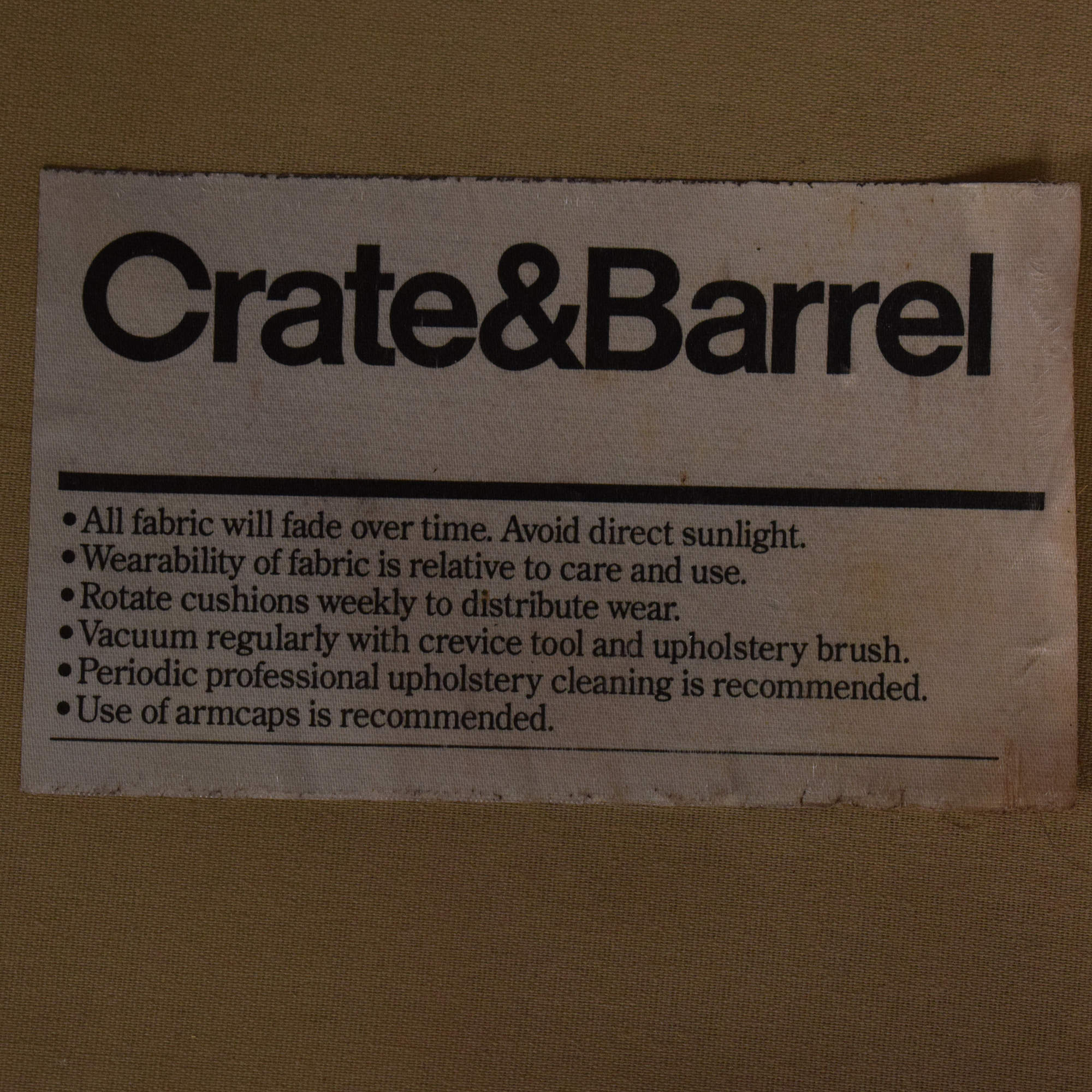 Crate & Barrel Crate & Barrel Troy Sofa used
