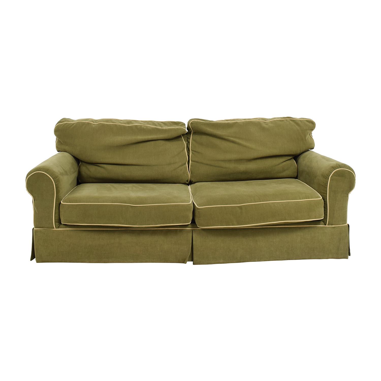 Raymour & Flanigan Green Sofa / Classic Sofas
