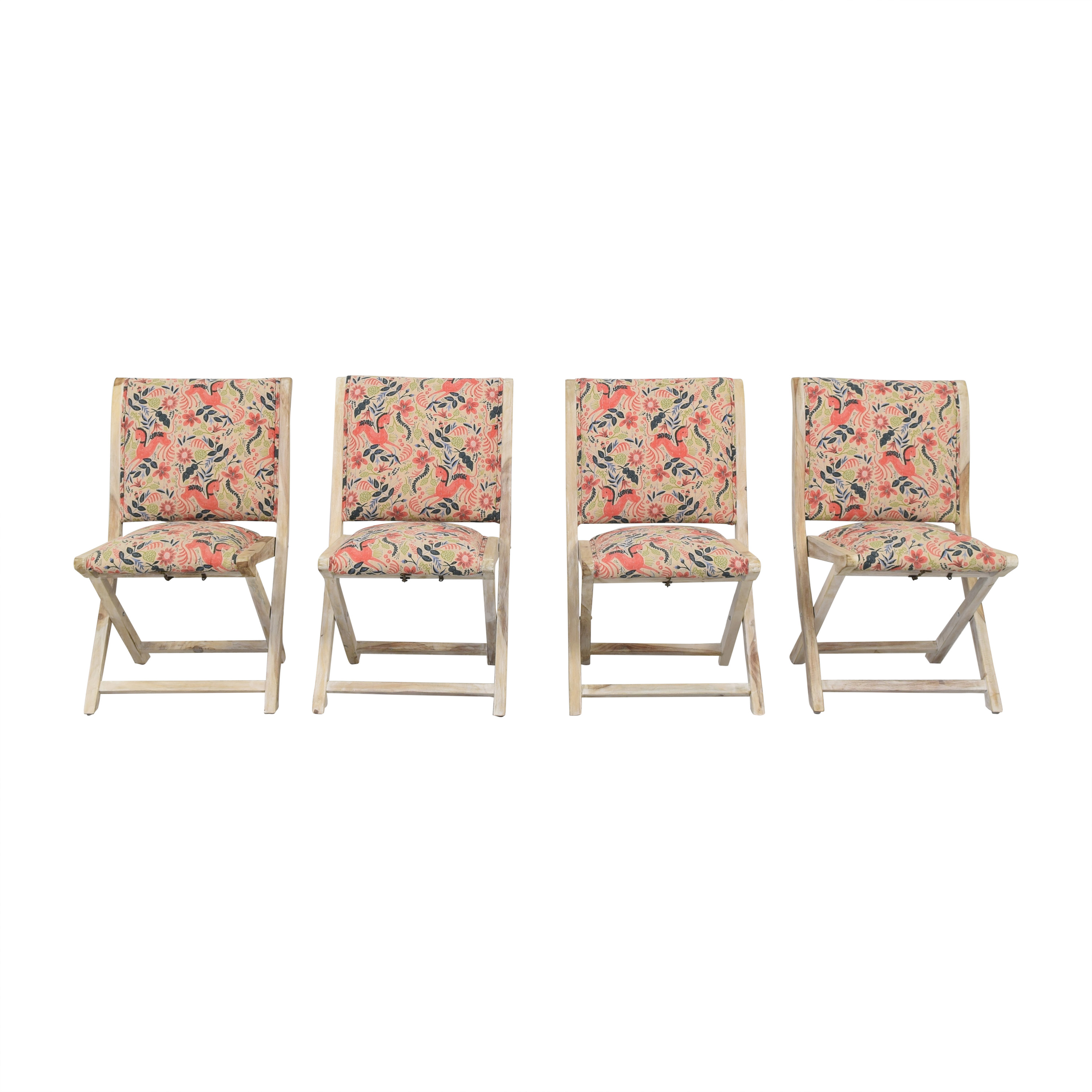 Anthropologie Rifle Paper Company Terai Chairs multi
