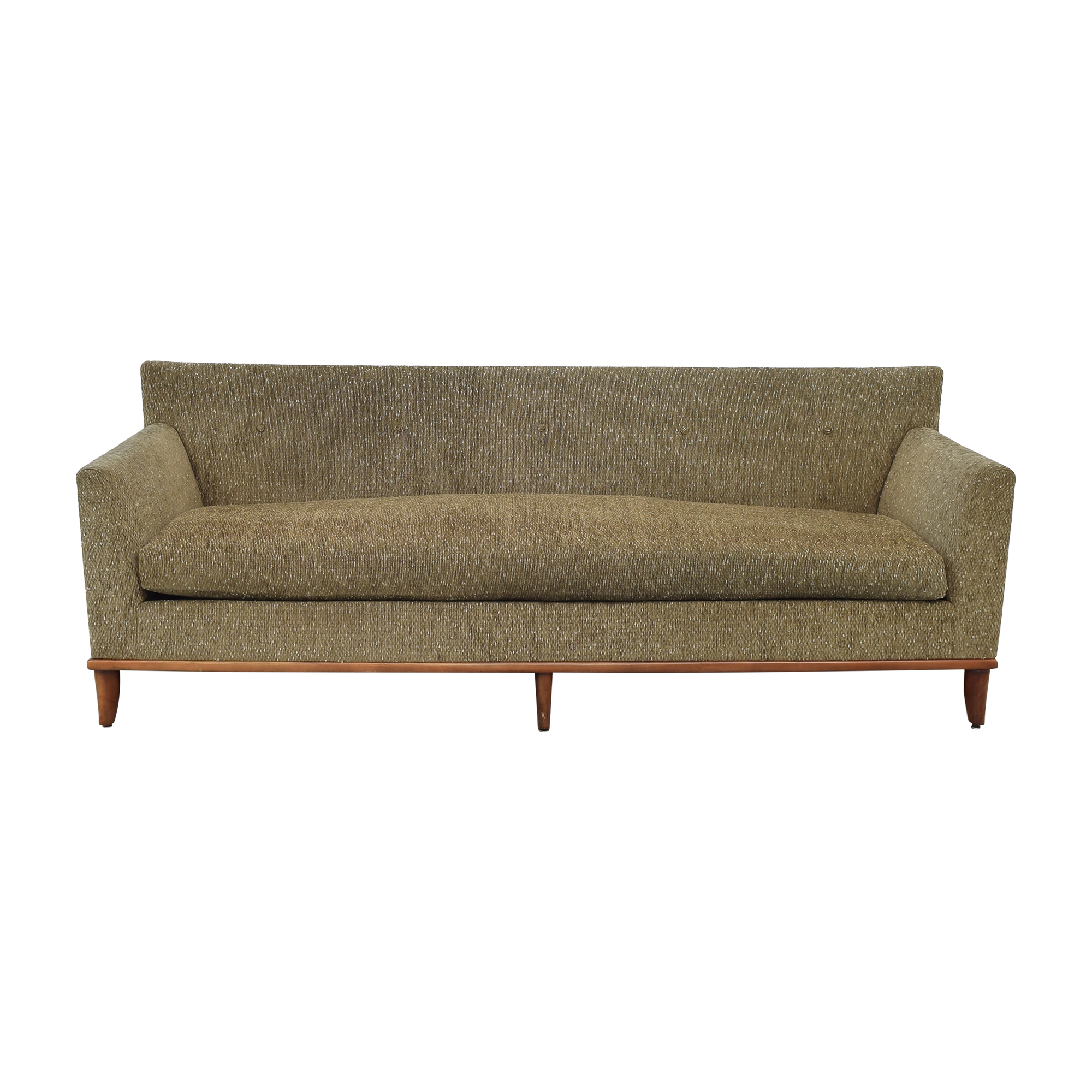 Bright Bright Single Cushion Sofa brown