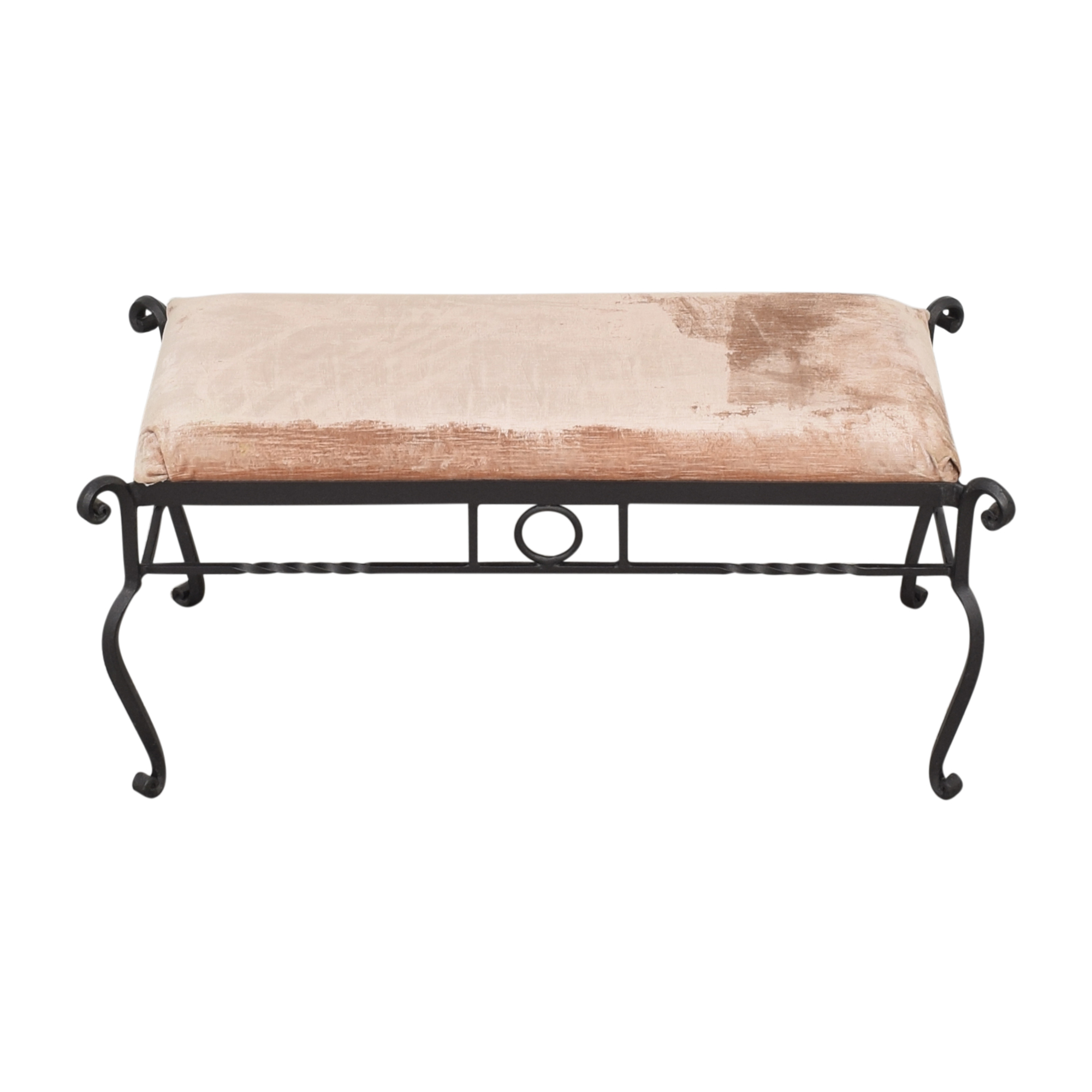 Charles P. Rogers Iron Bench / Chairs