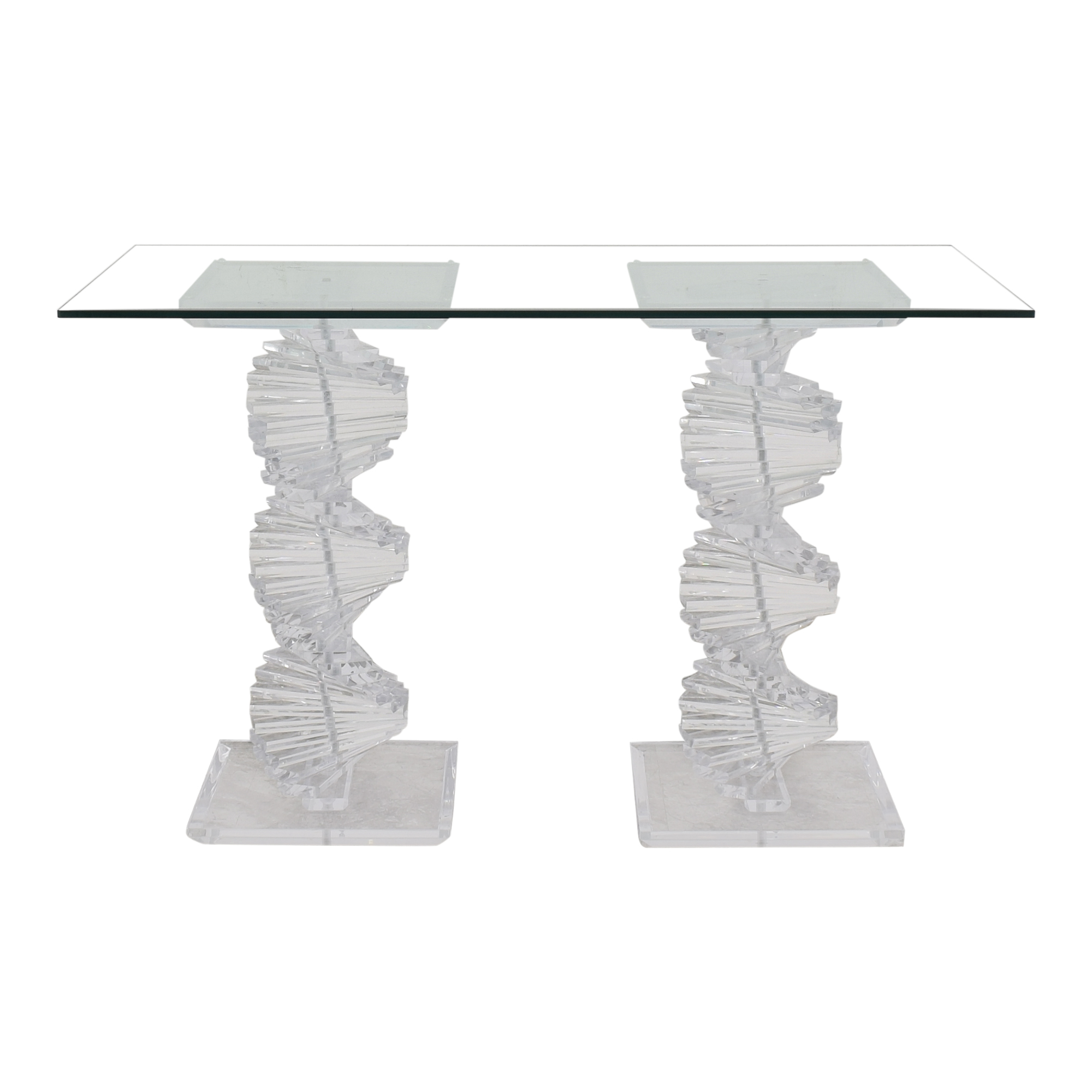 shop Accordion Double Pedestal Dining Table