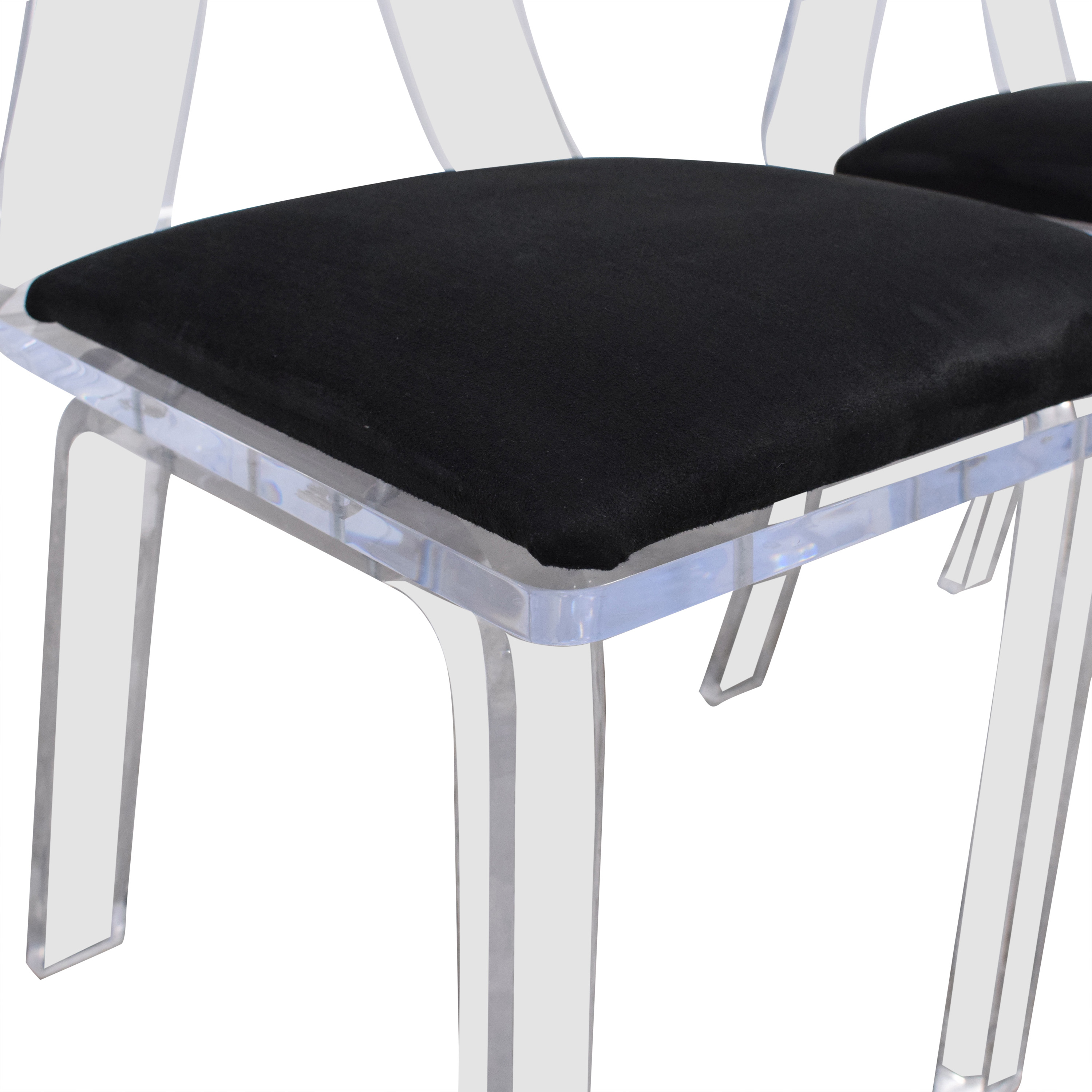 Lucite Dining Chairs on sale