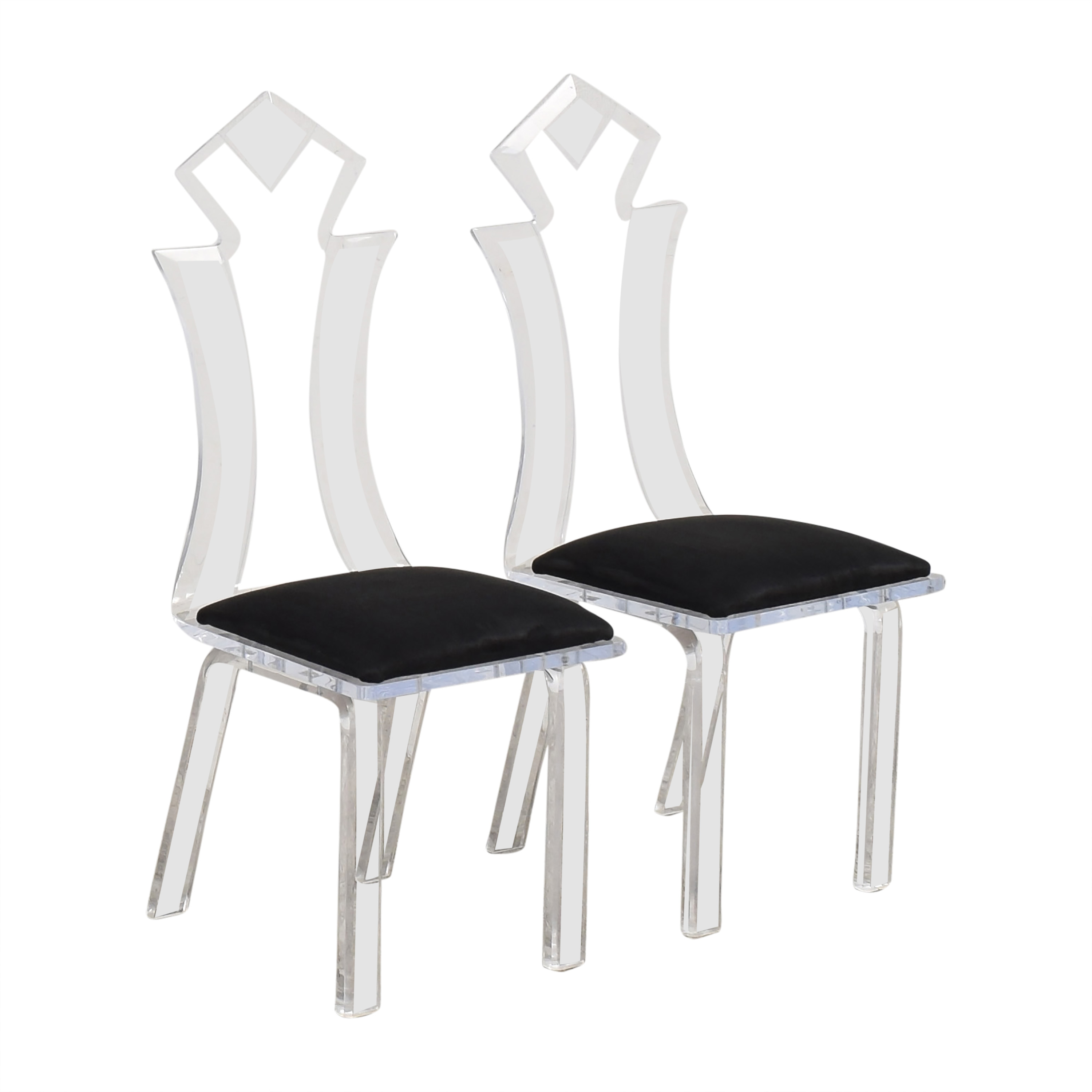 Lucite Dining Chairs price