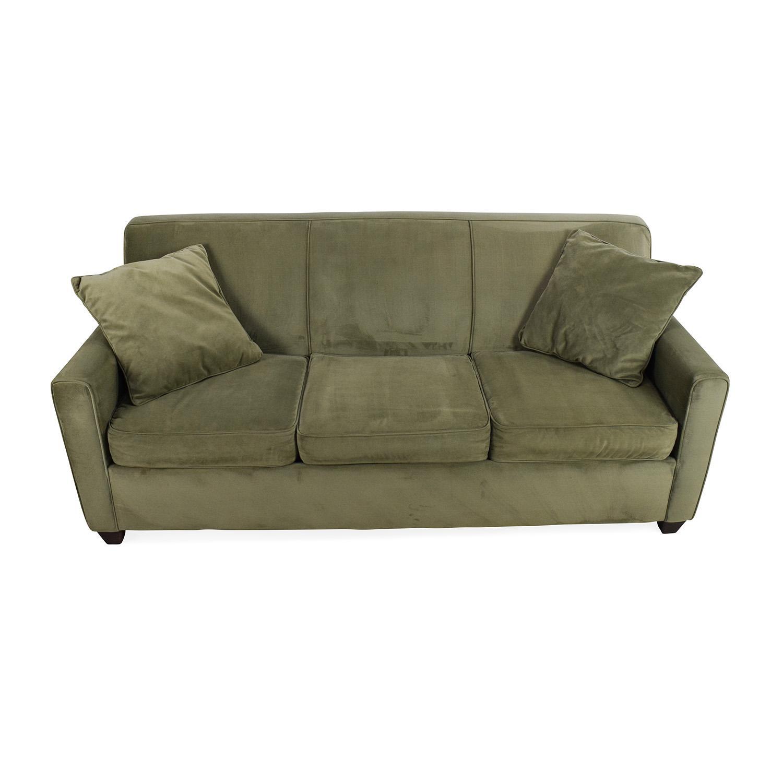 Phenomenal 64 Off Raymour Flanigan Raymour Flanigan Parker Pullout Sofa Sofas Inzonedesignstudio Interior Chair Design Inzonedesignstudiocom