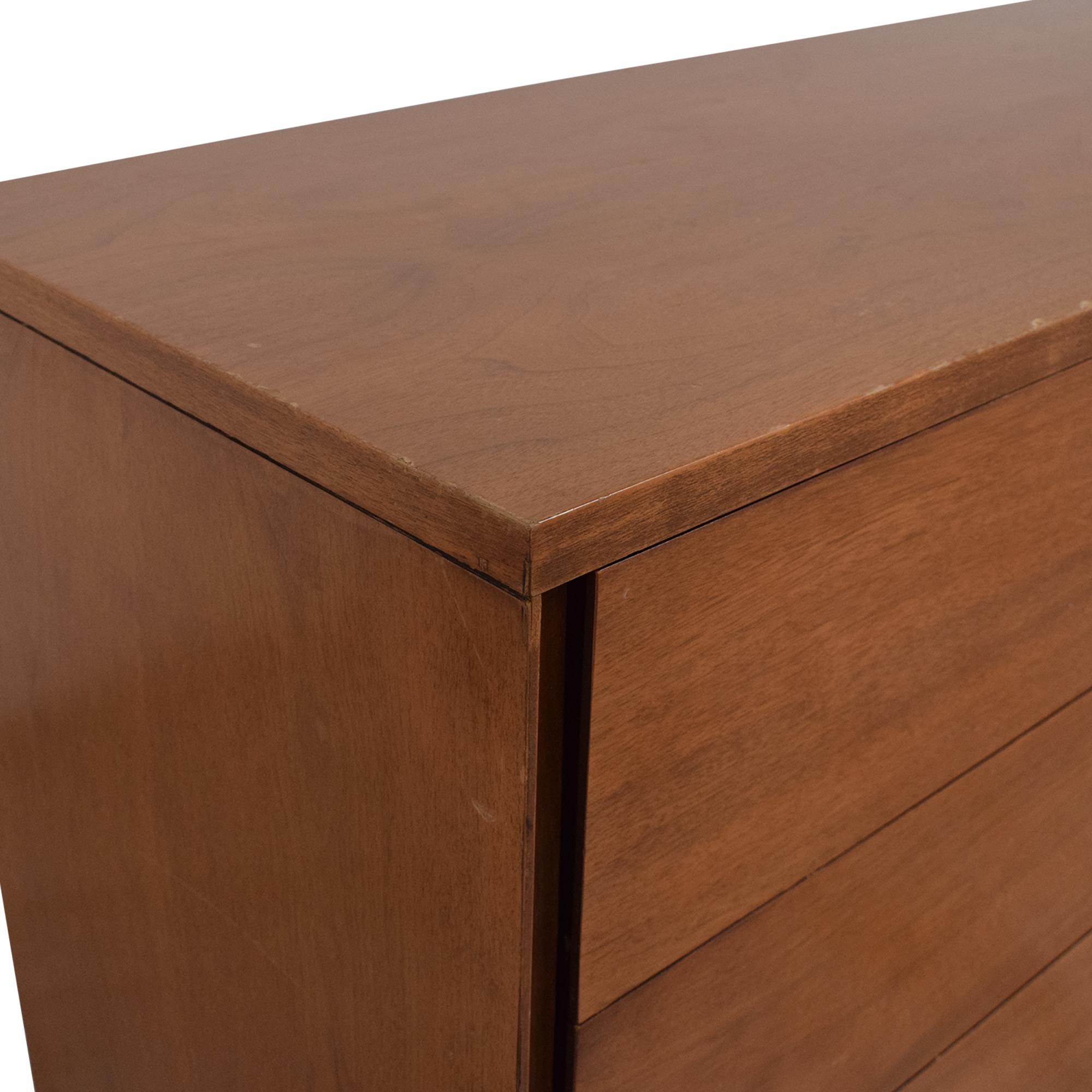 Mid Century Six Drawer Dresser nj