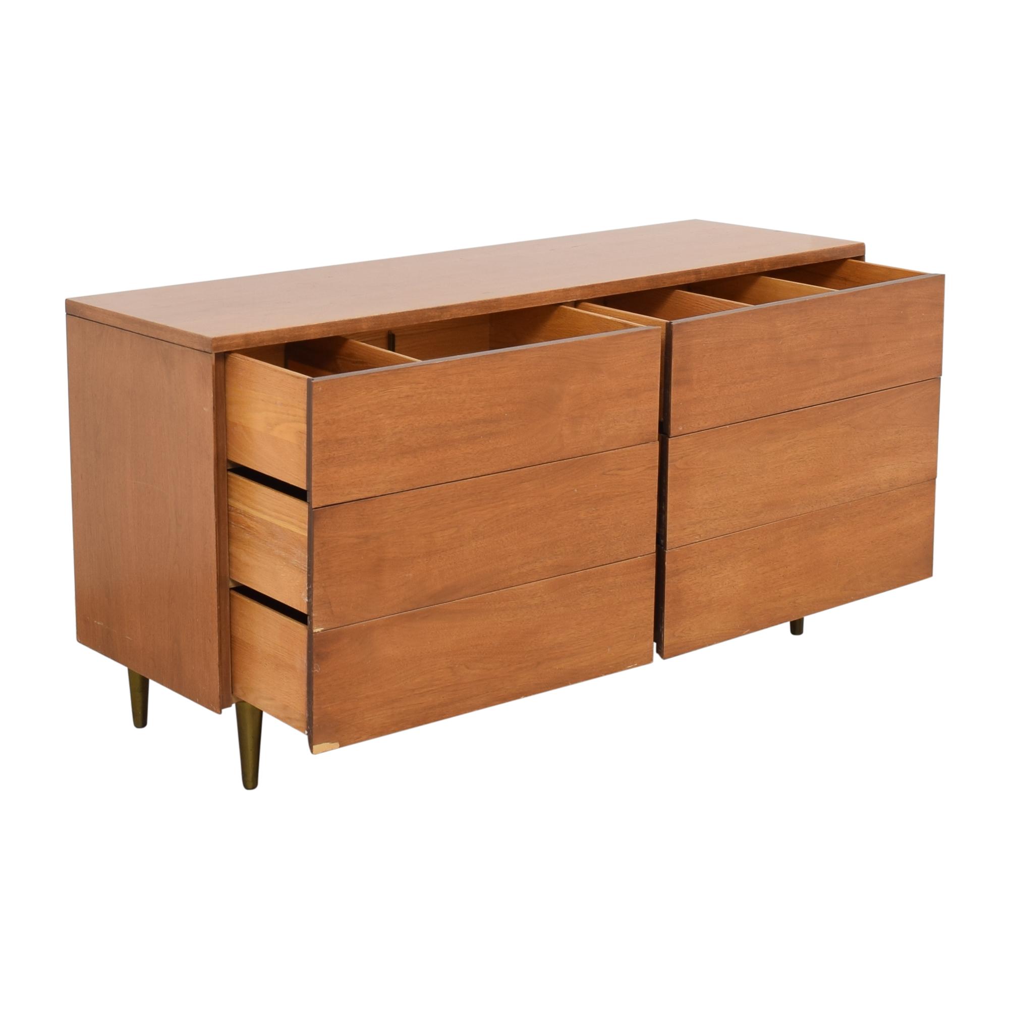 shop  Mid Century Six Drawer Dresser online
