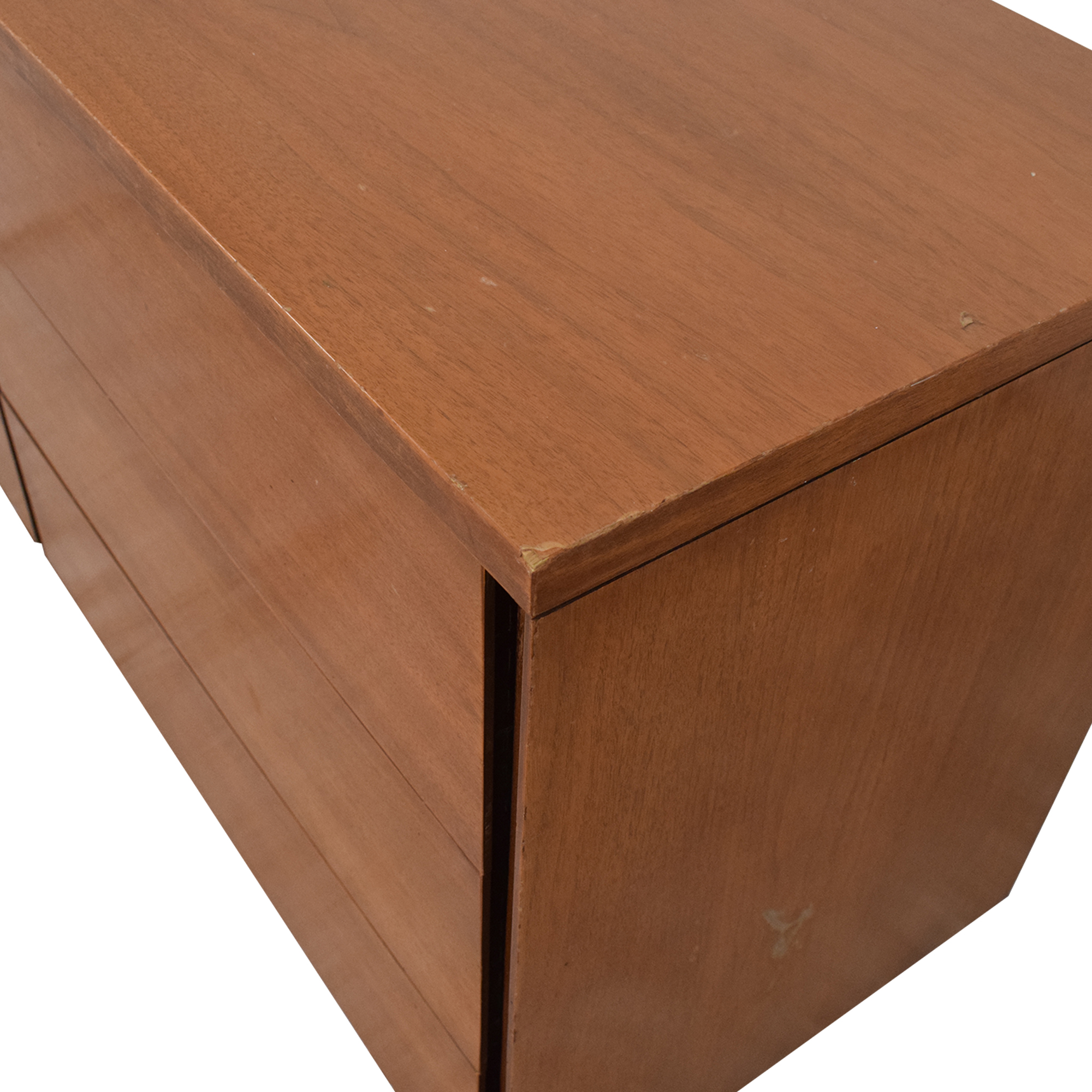 Mid Century Six Drawer Dresser Dressers