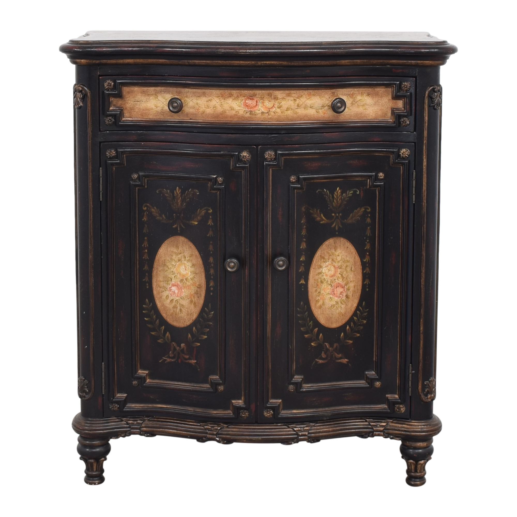 Small Carved Cabinet nyc