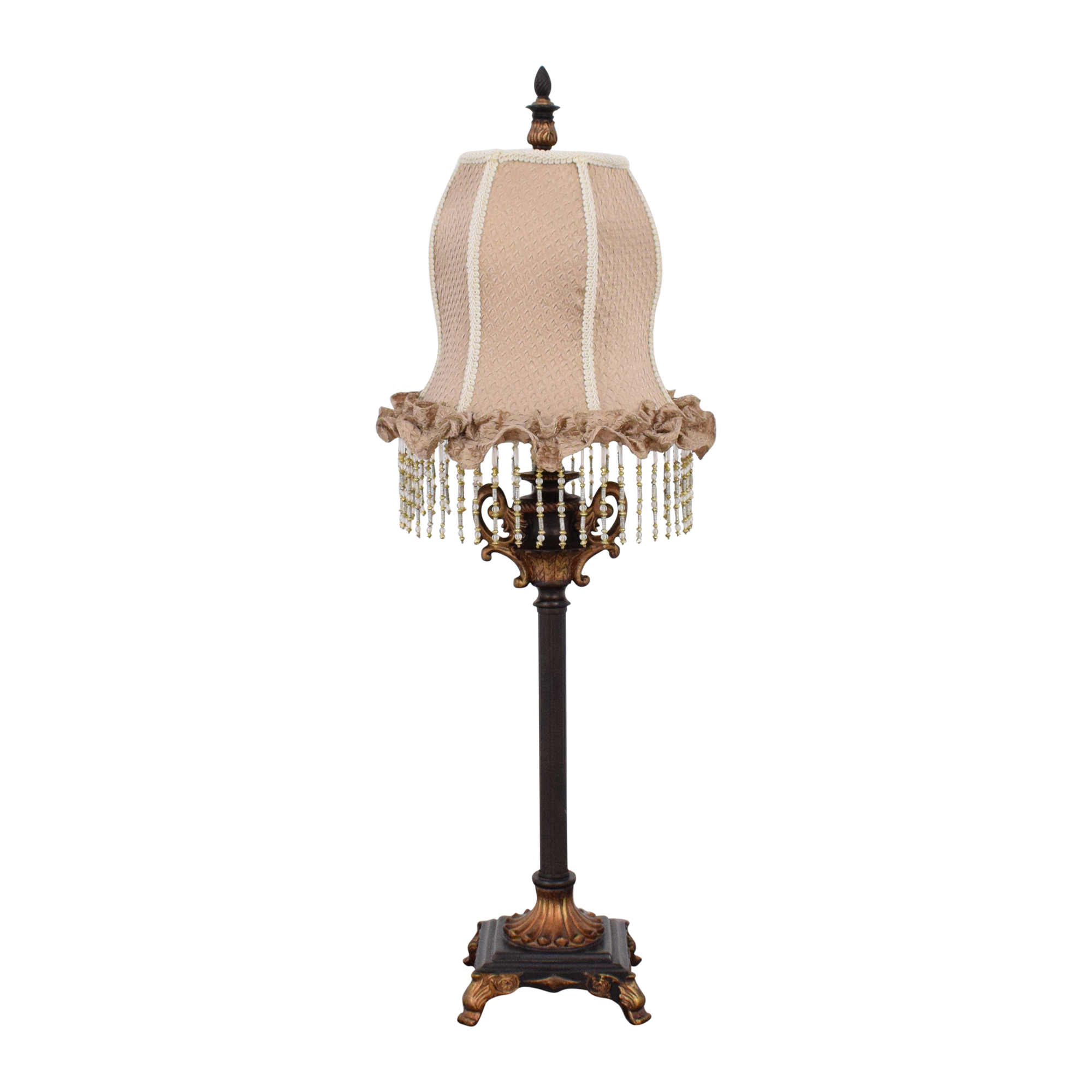 Table Lamp with Tassel Shade Lamps
