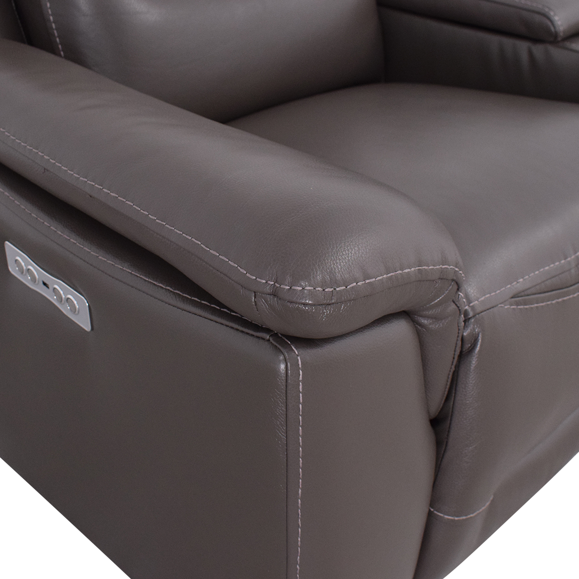 Jason Furniture Midori Power Reclining Sofa with Console / Sofas