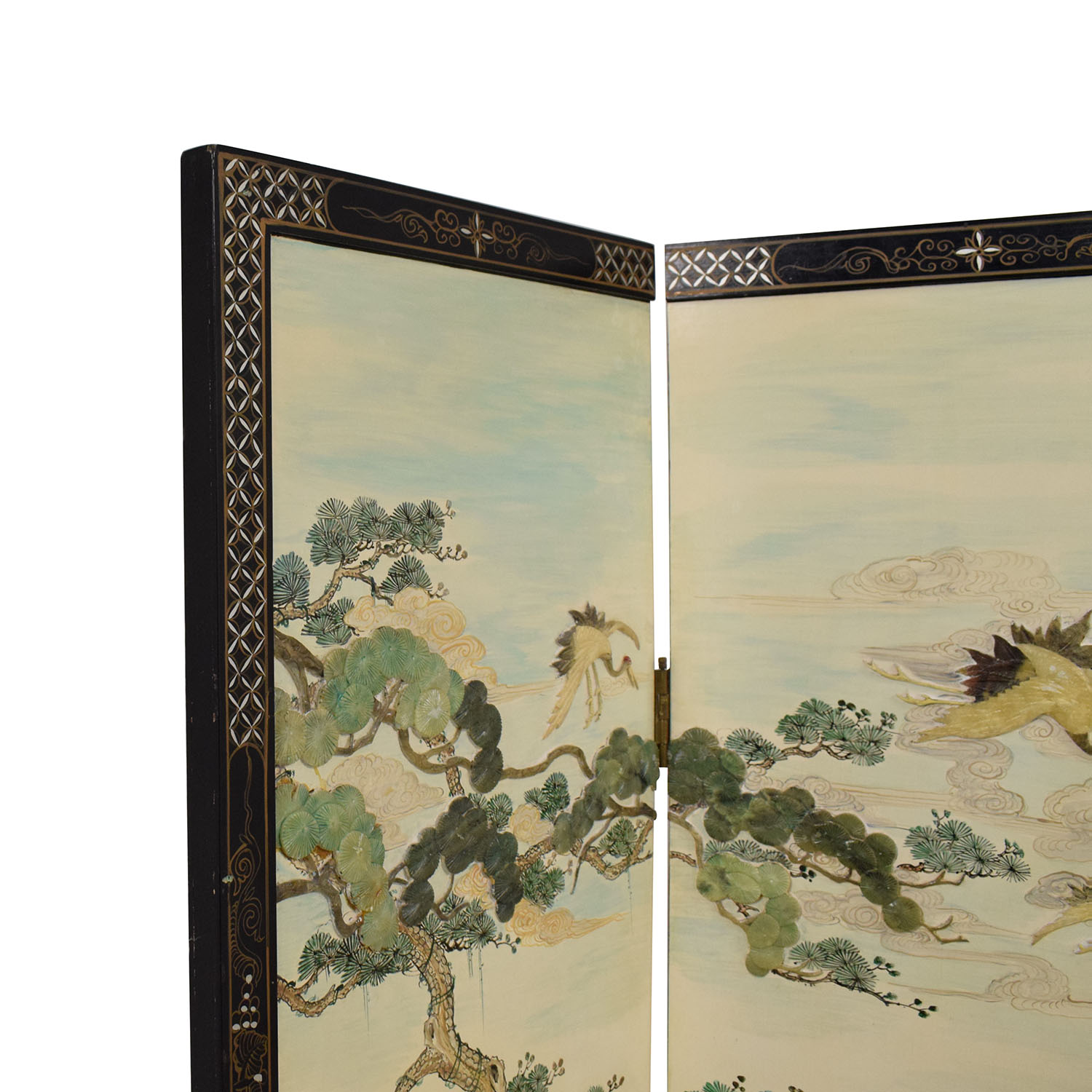 buy Chinese Style Panel Screen Divider  Dividers
