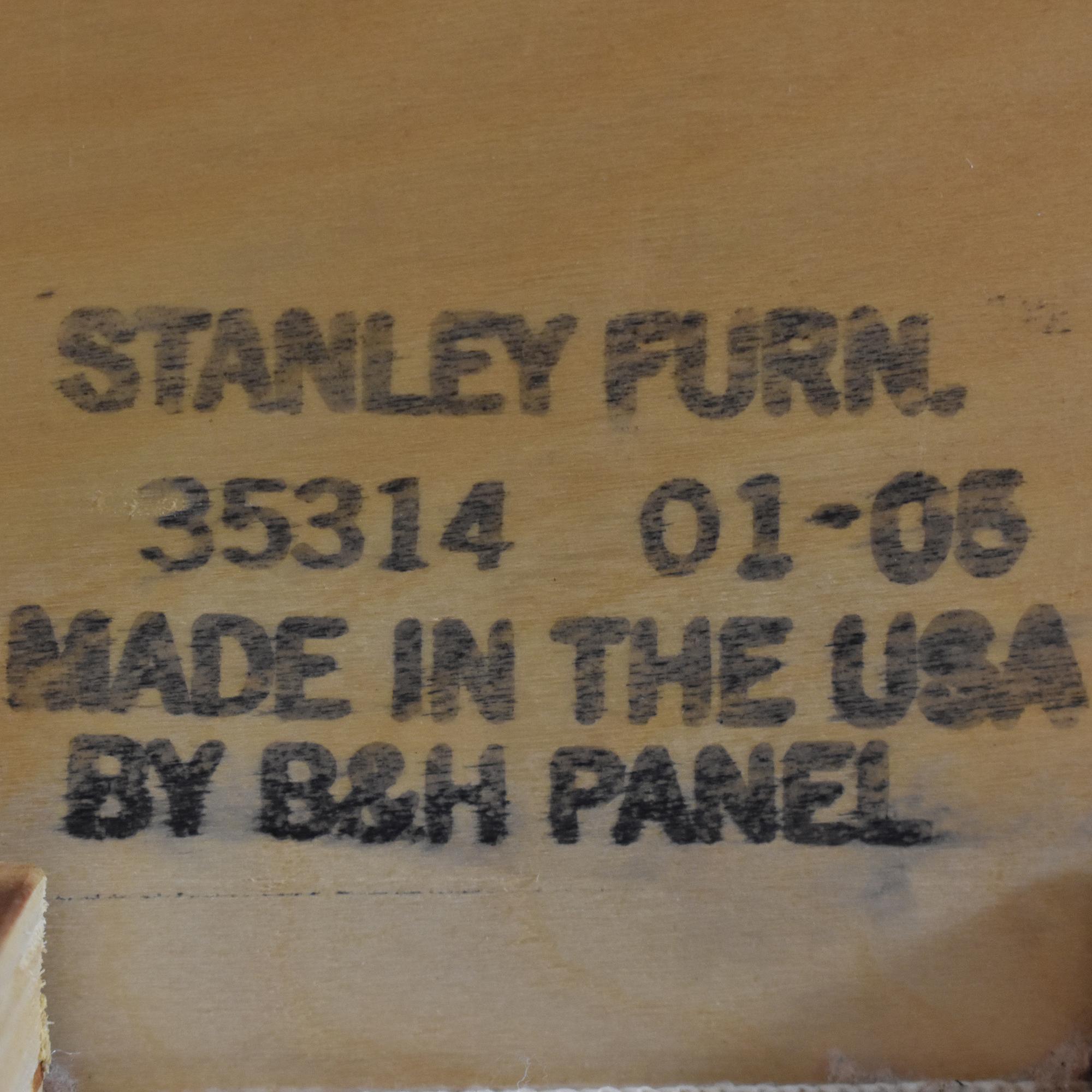 shop Stanley Furniture Twin Sleigh Bed Stanley Furniture